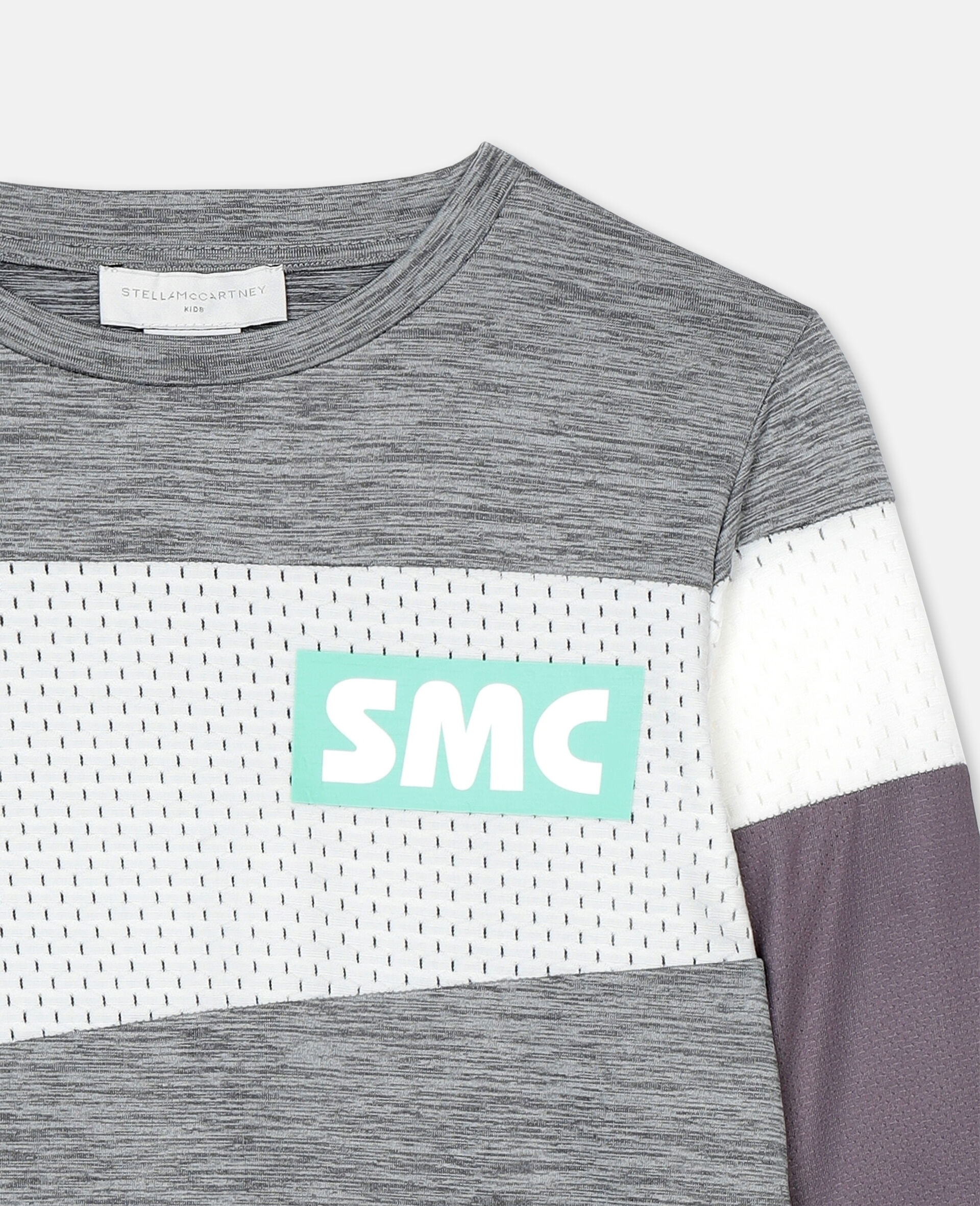 Space Dye Active T-shirt -Grey-large image number 1