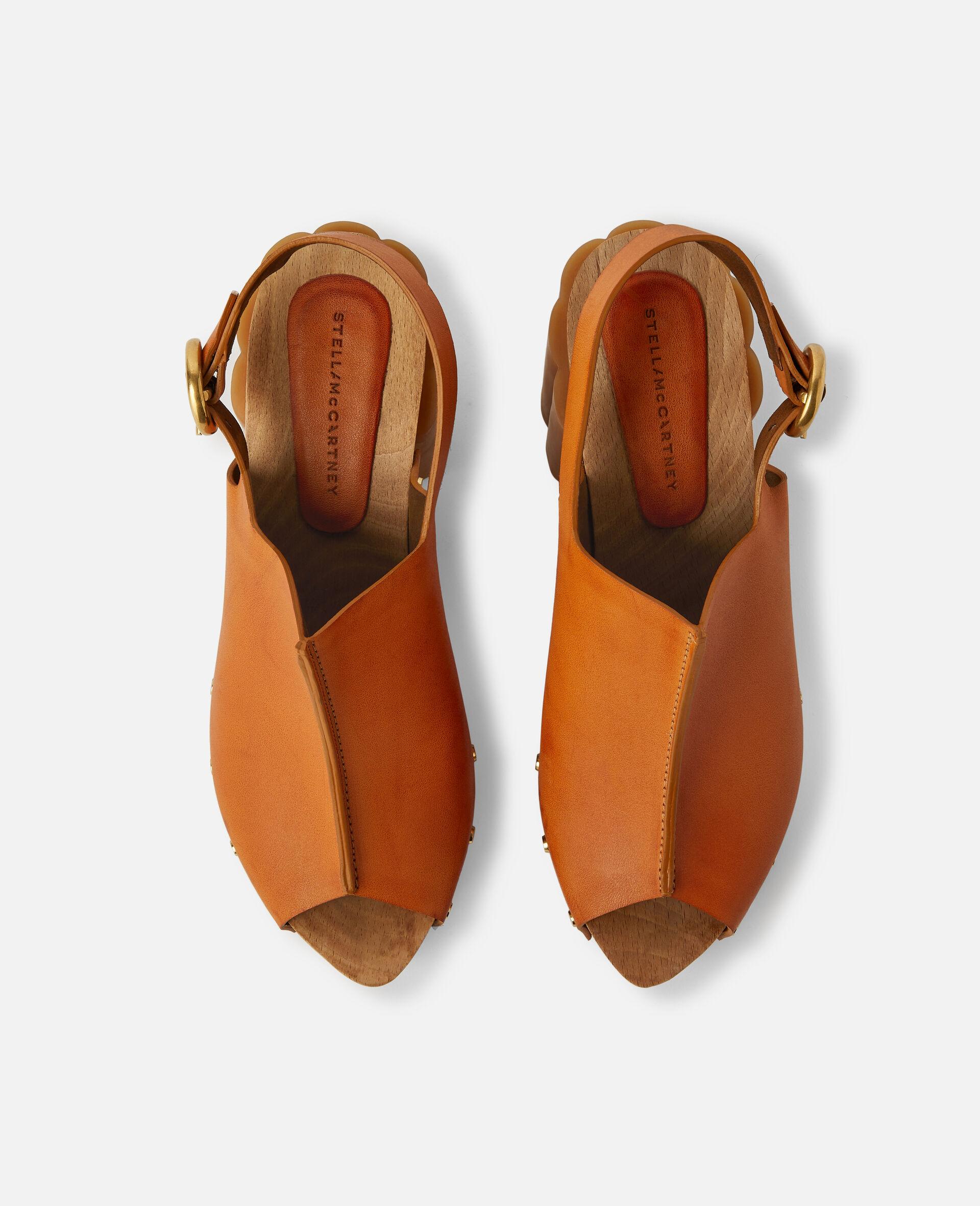 Daisy Stud Hardware Sandals-Black-large image number 3