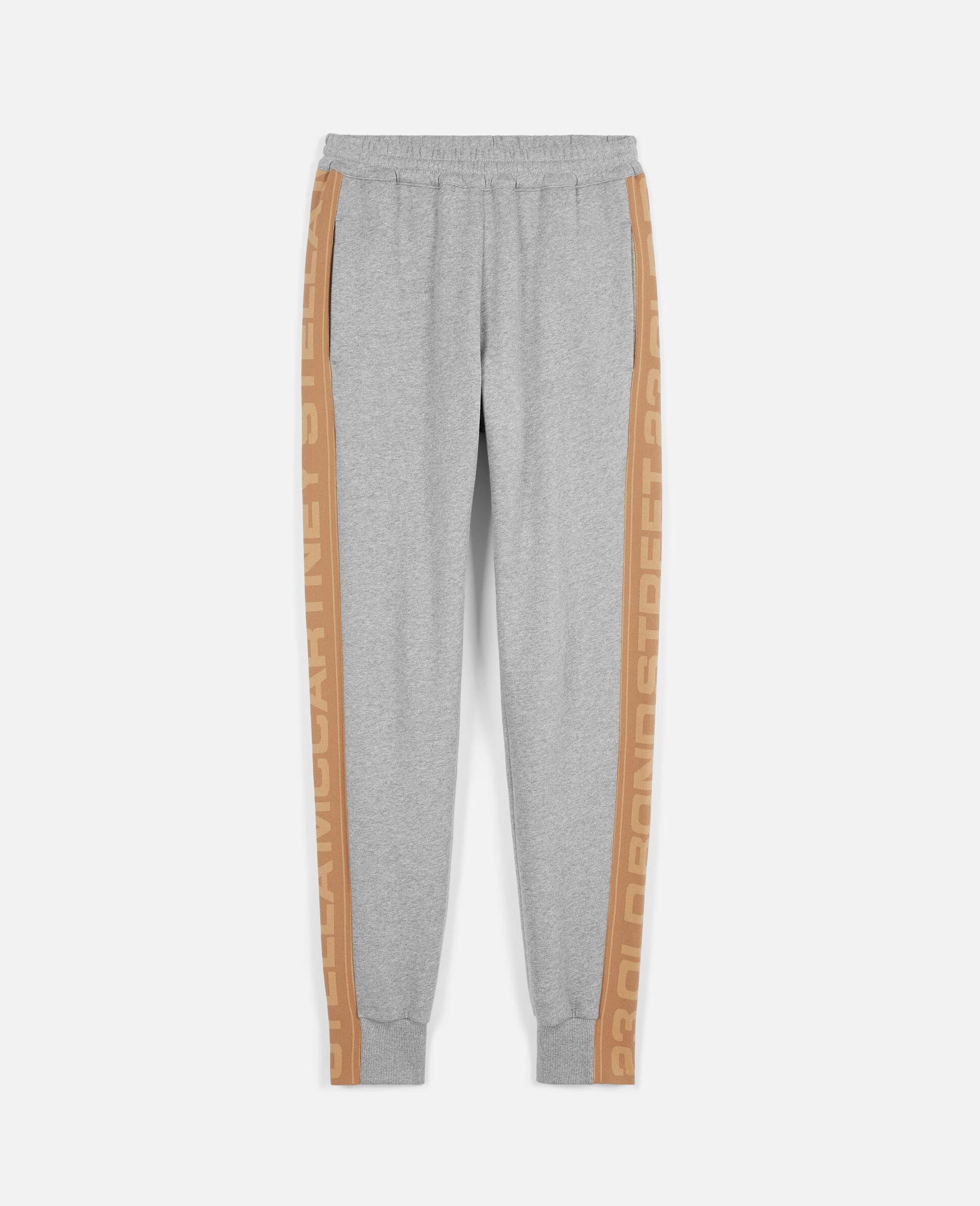 Pantalon 23 OBS en maille -Gris-large image number 0