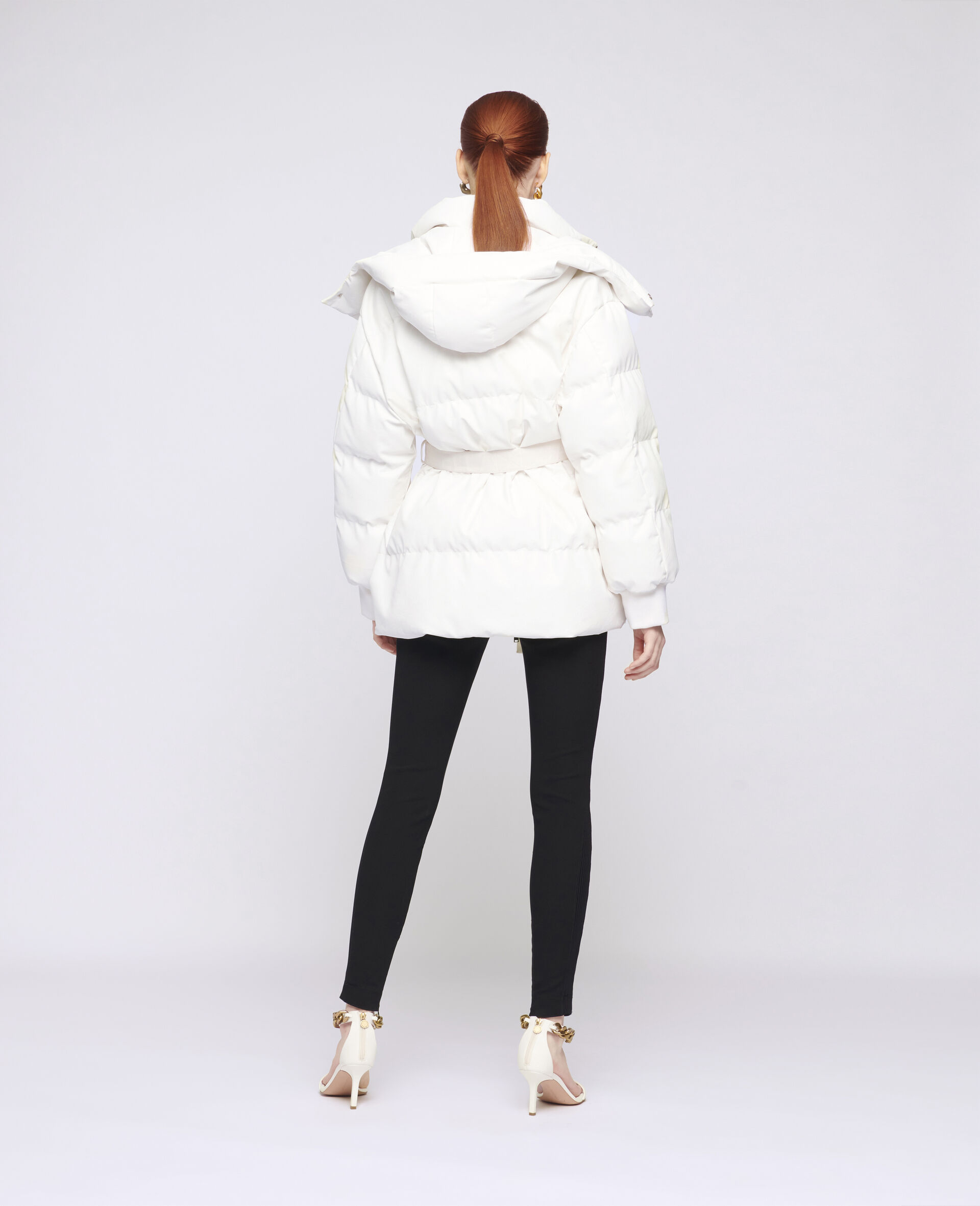 Kayla Quilted Puffer Jacket-White-large image number 2