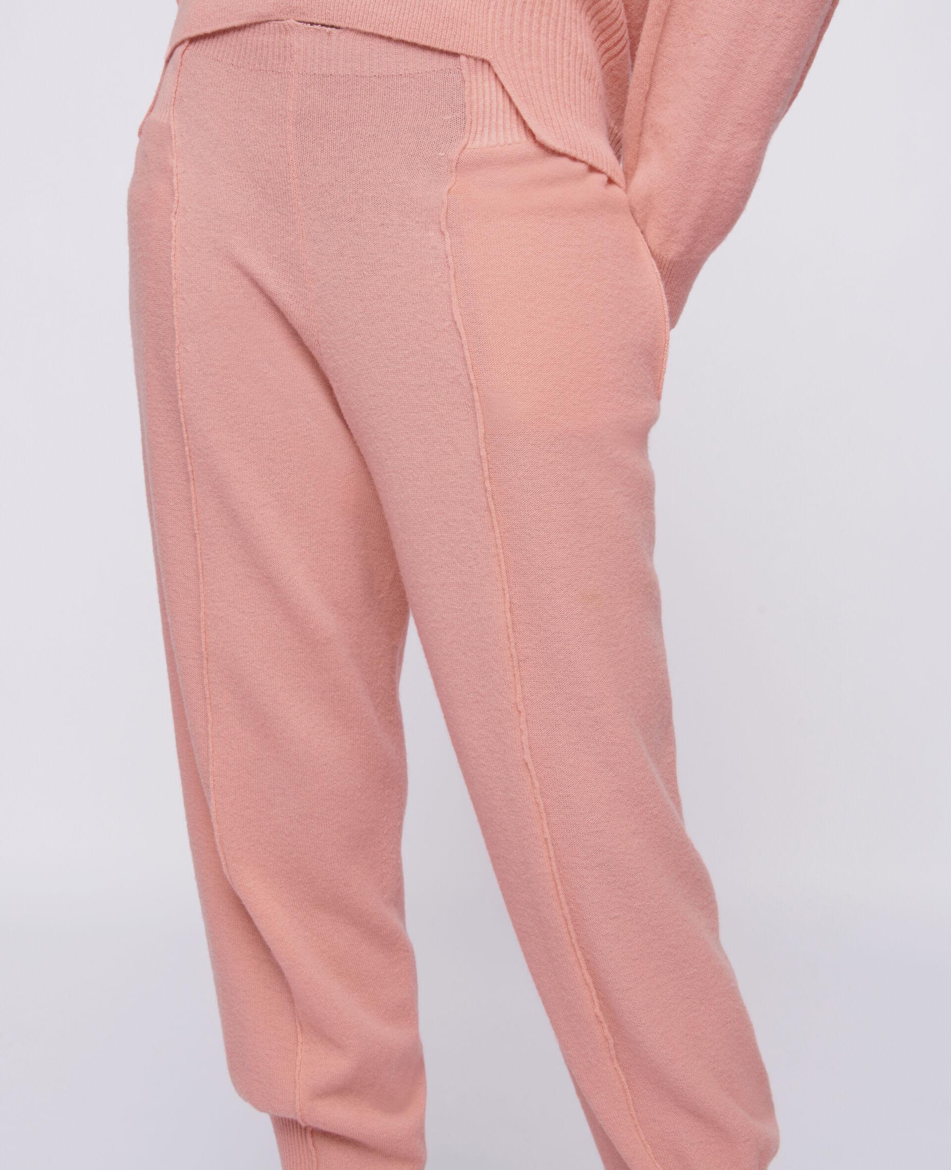 Knit Trousers -Orange-large image number 3
