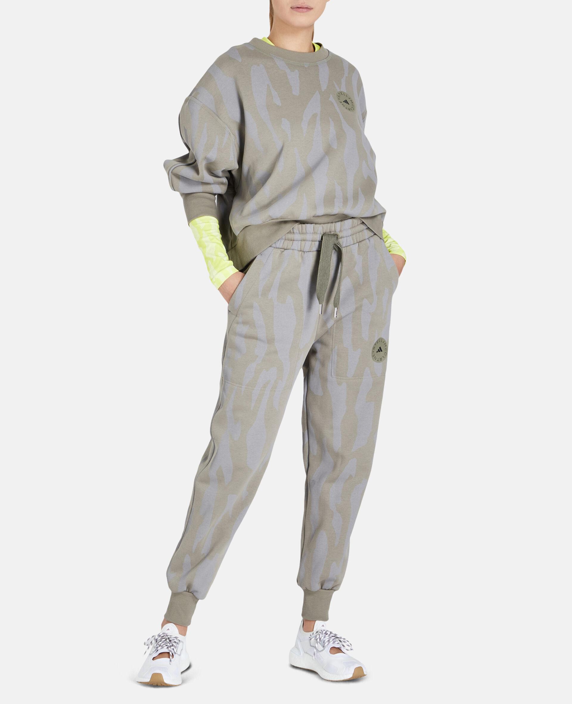 Gray Training Sweatpants-Grey-large image number 1
