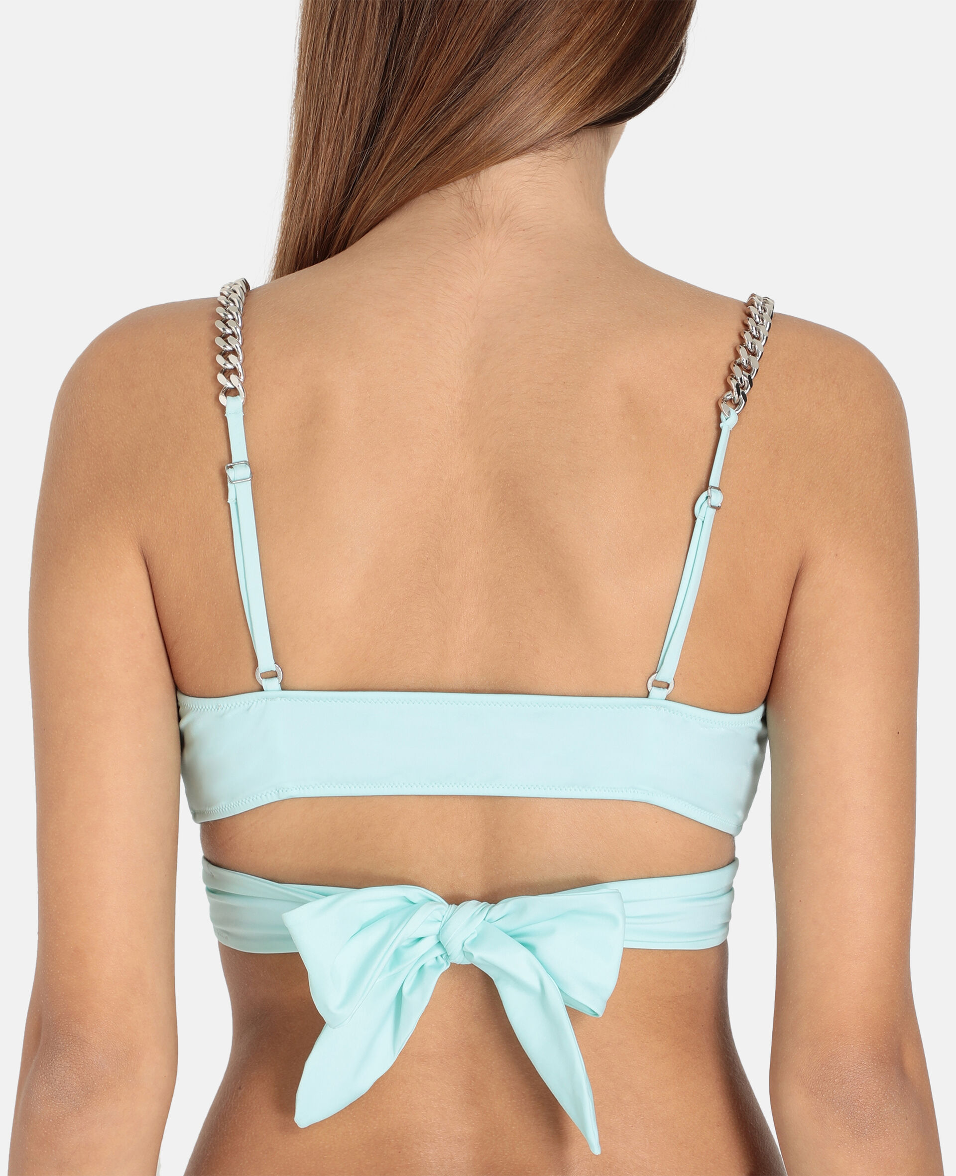 Iconic Chain Wrap Top-Mint-large image number 2