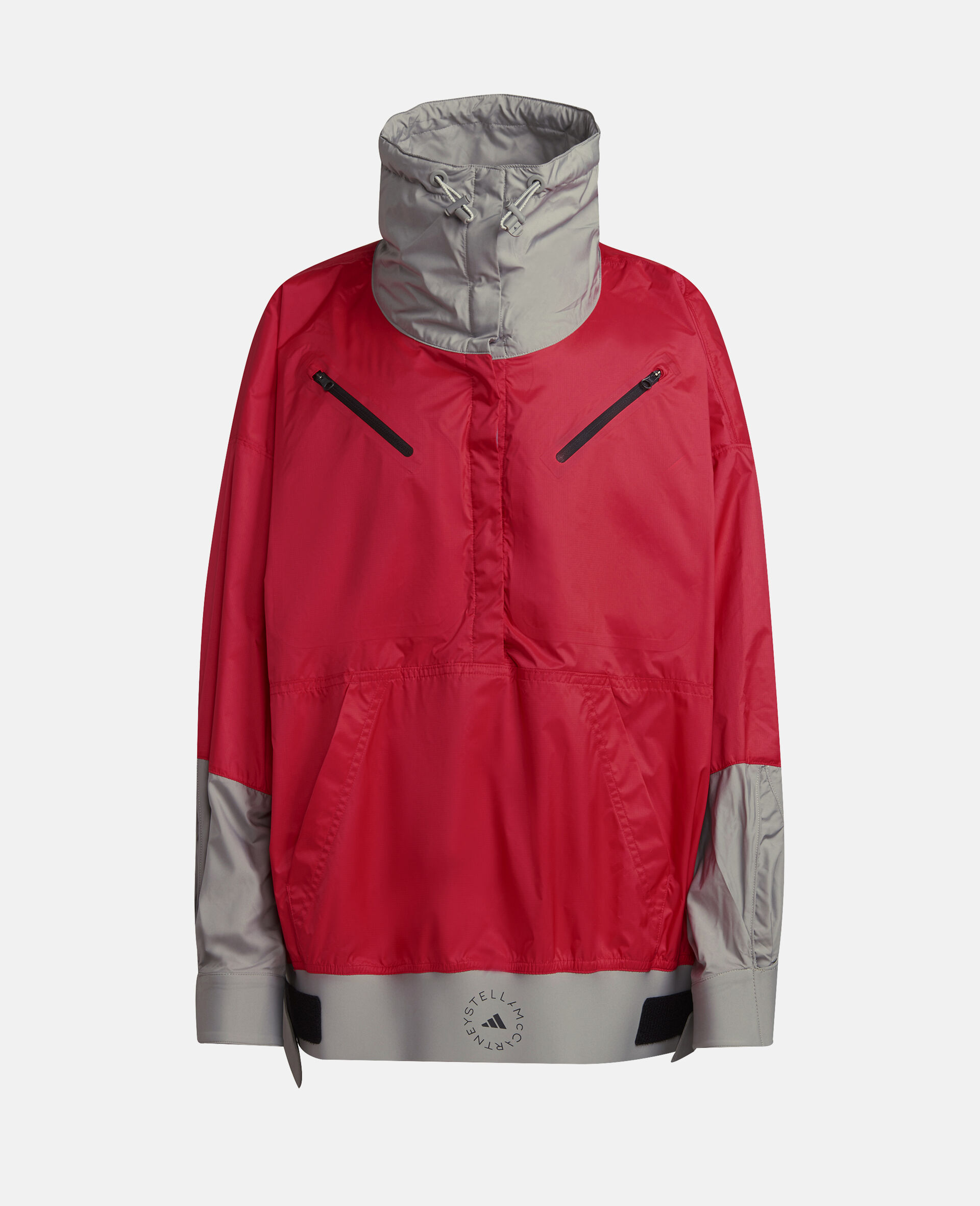 Active Pink and Dove Grey Training WIND.RDY Jacket-Pink-large image number 0