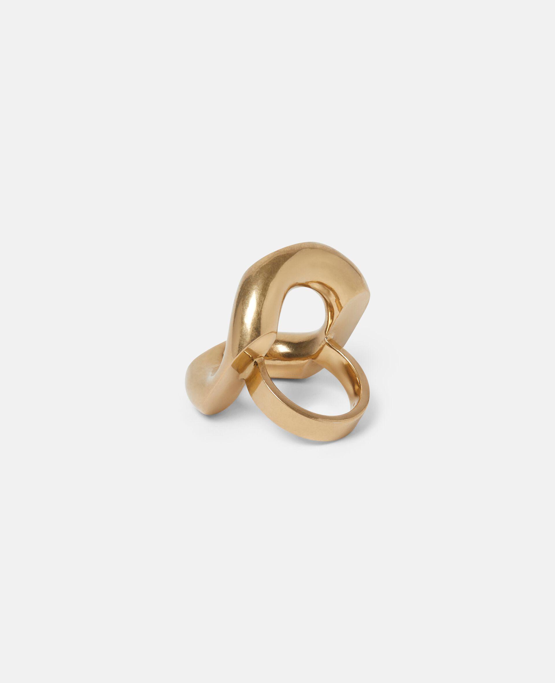 Ring aus Messing-Gelb-large image number 2