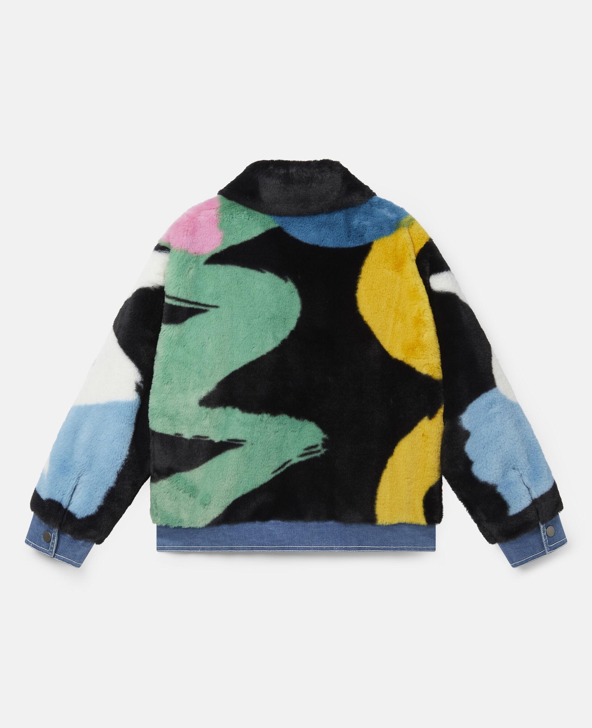 FFF & Denim Jacket -Multicolour-large image number 3