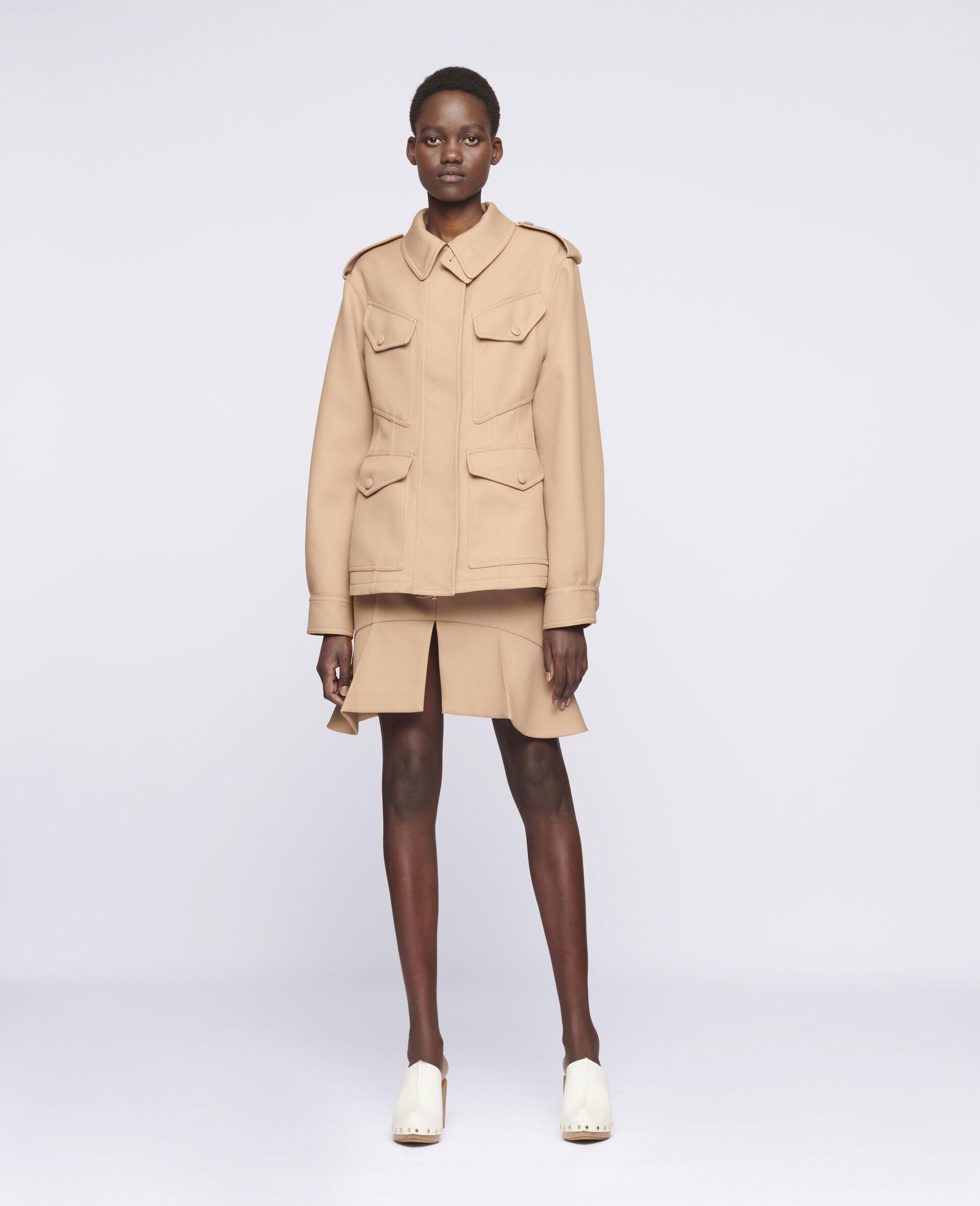 Arabella Mini Skirt-Brown-large image number 1