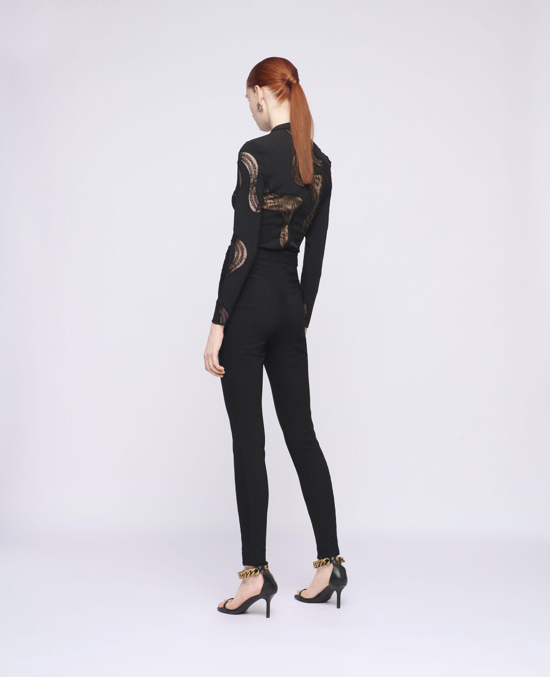 Morgan 贴腿裤-黑色-large image number 2
