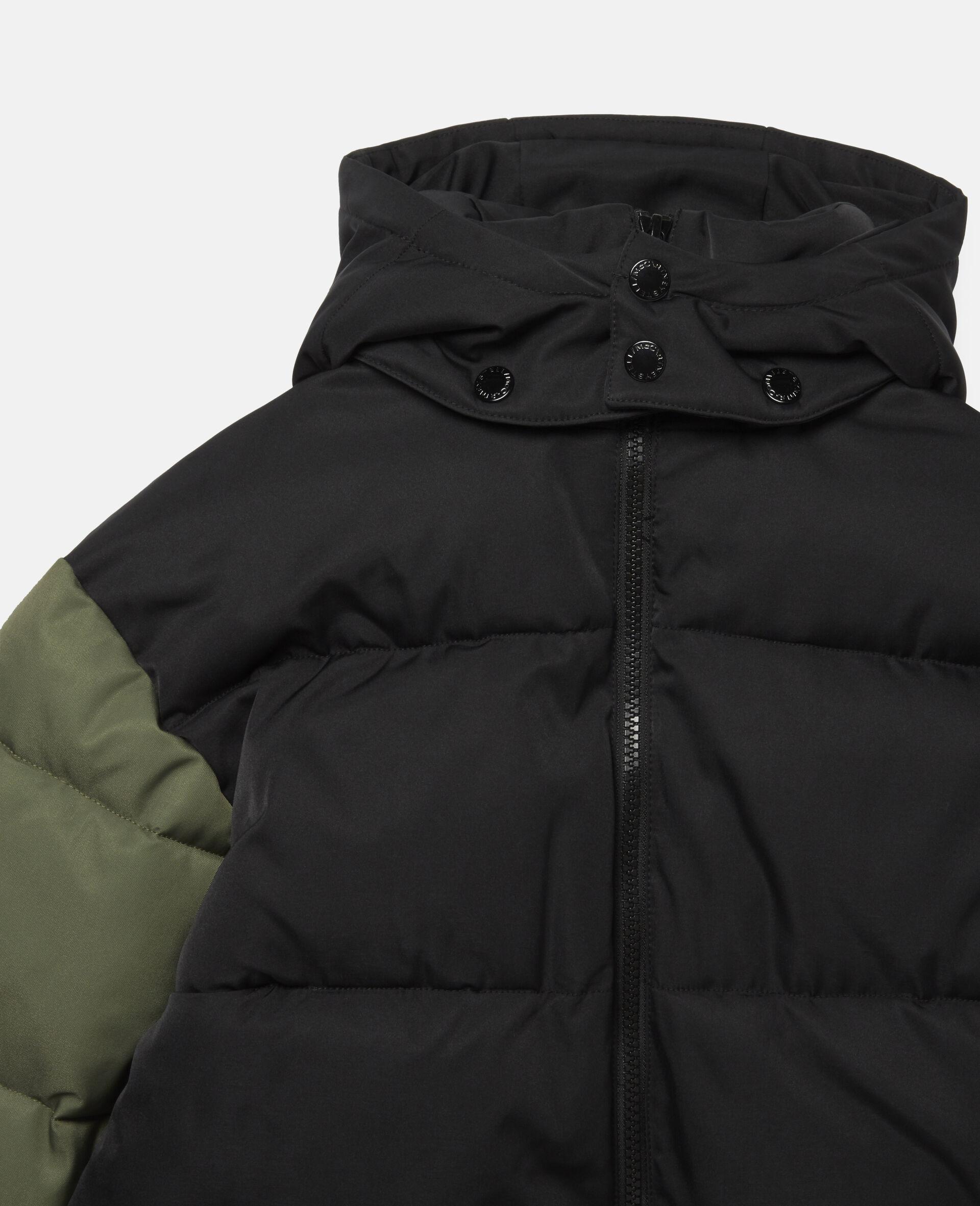 Oversized Puffer Jacket-Black-large image number 1