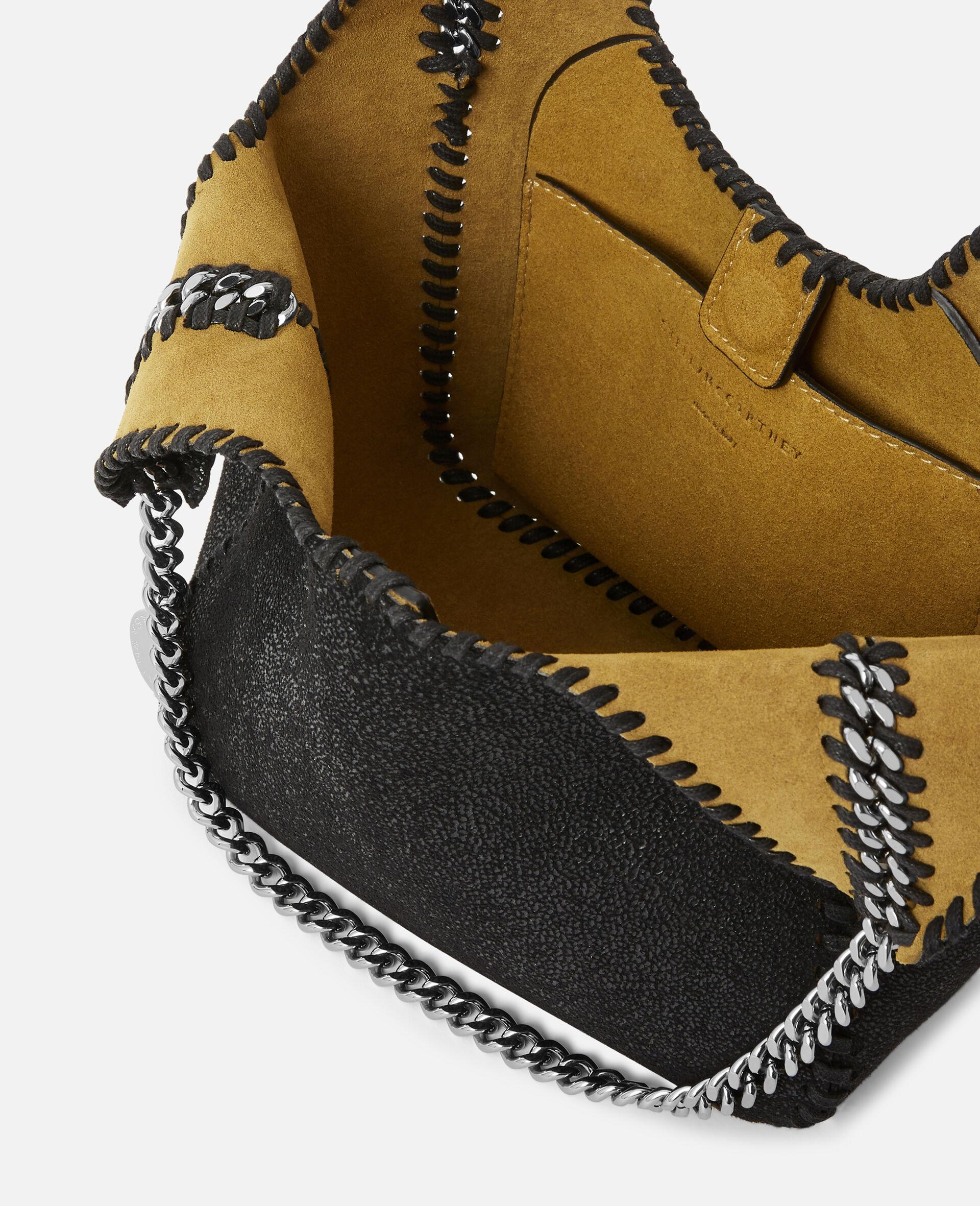 Mini Falabella Tote Bag -Black-large image number 3