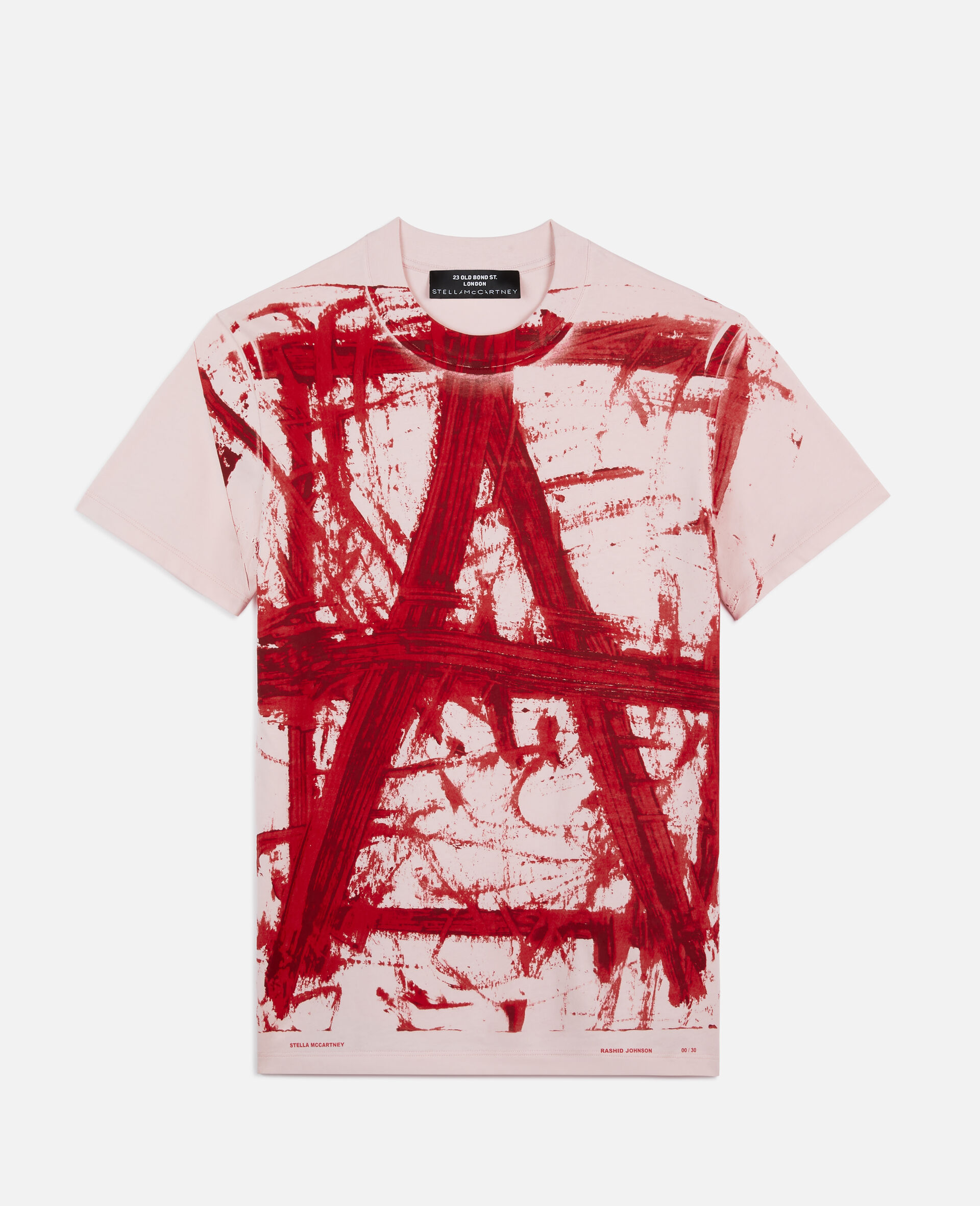 "Rashid Johnson ""A"" T-shirt-Pink-large image number 0"