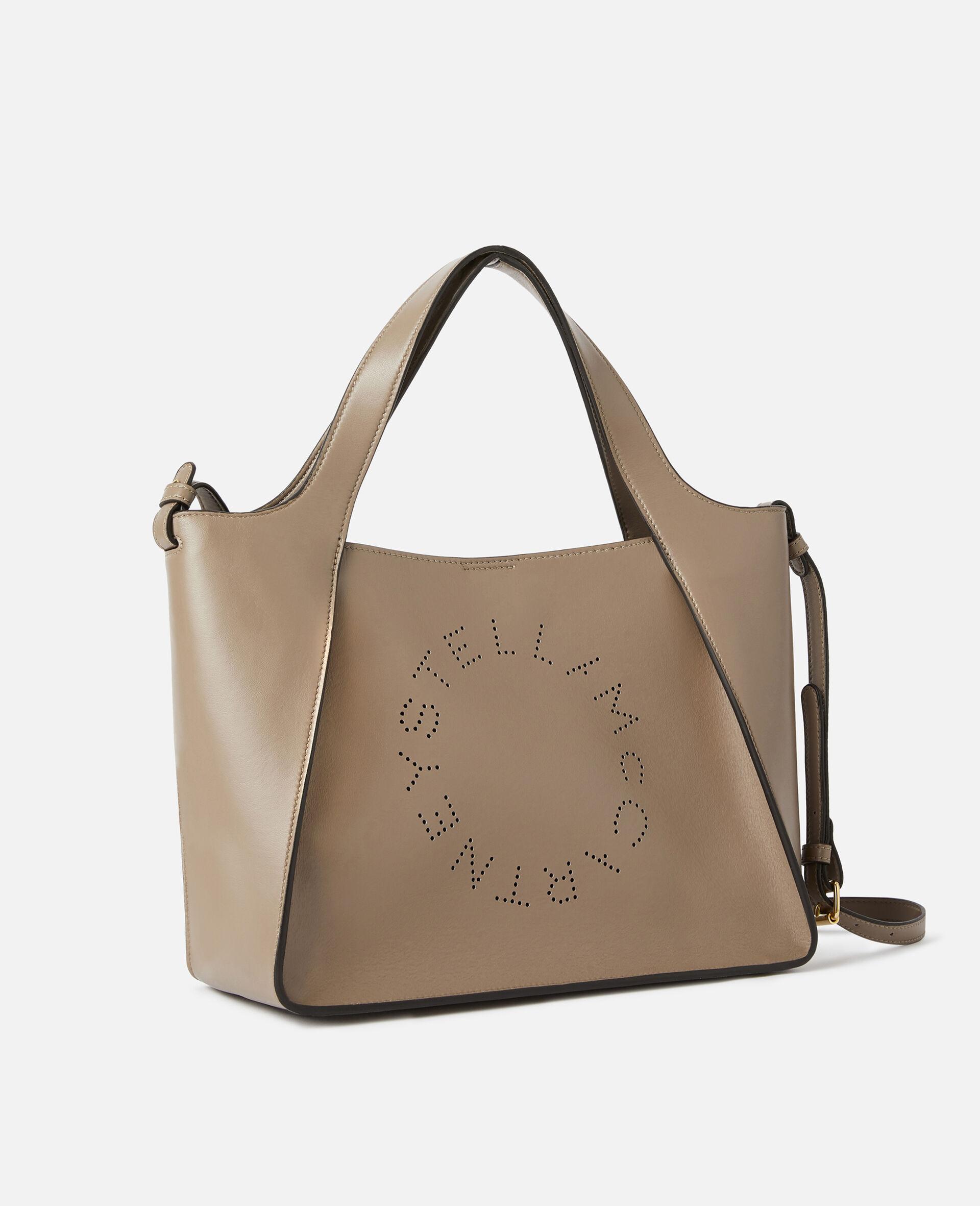 Stella Logo Crossbody Bag -Beige-large image number 1
