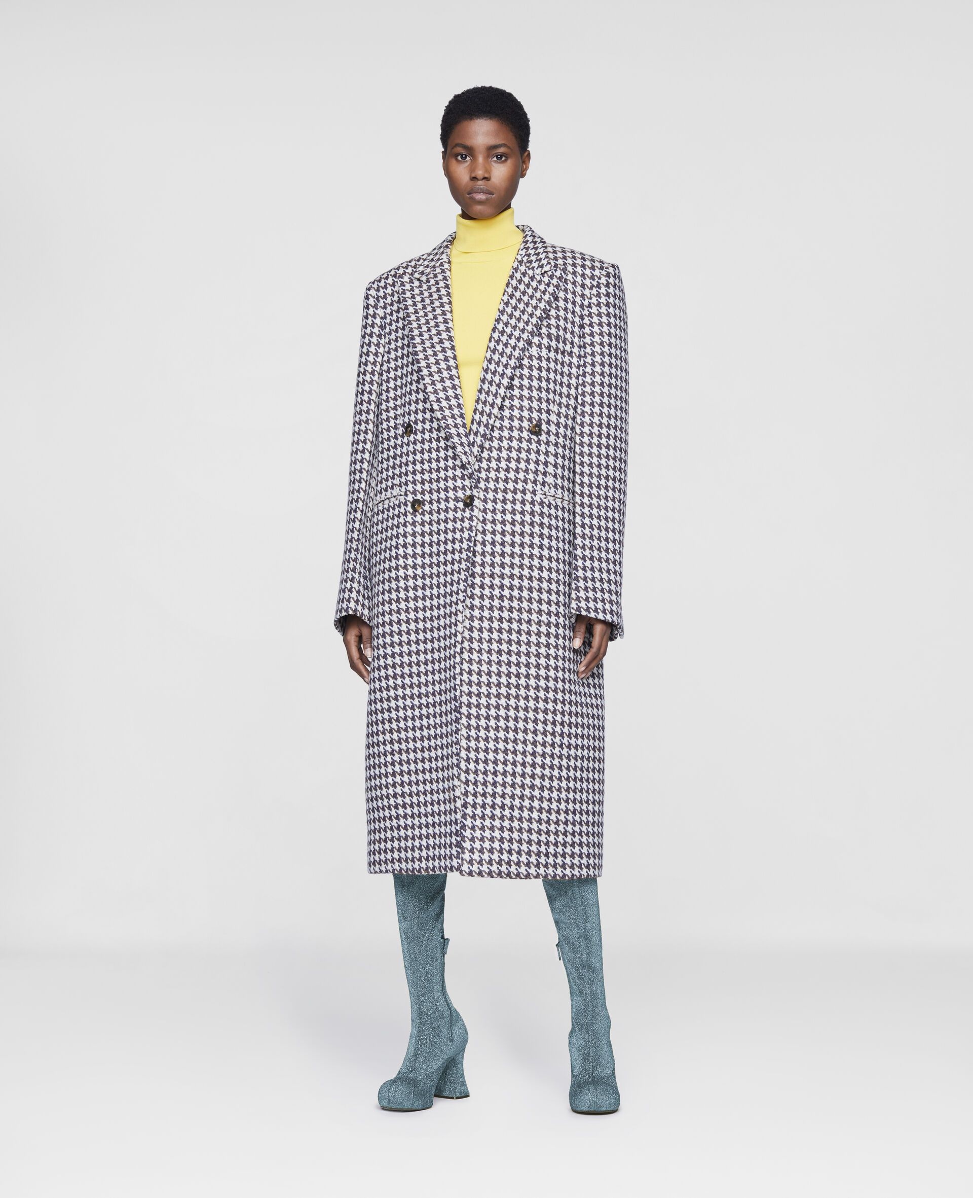 Varina Coat-Multicolour-large image number 1