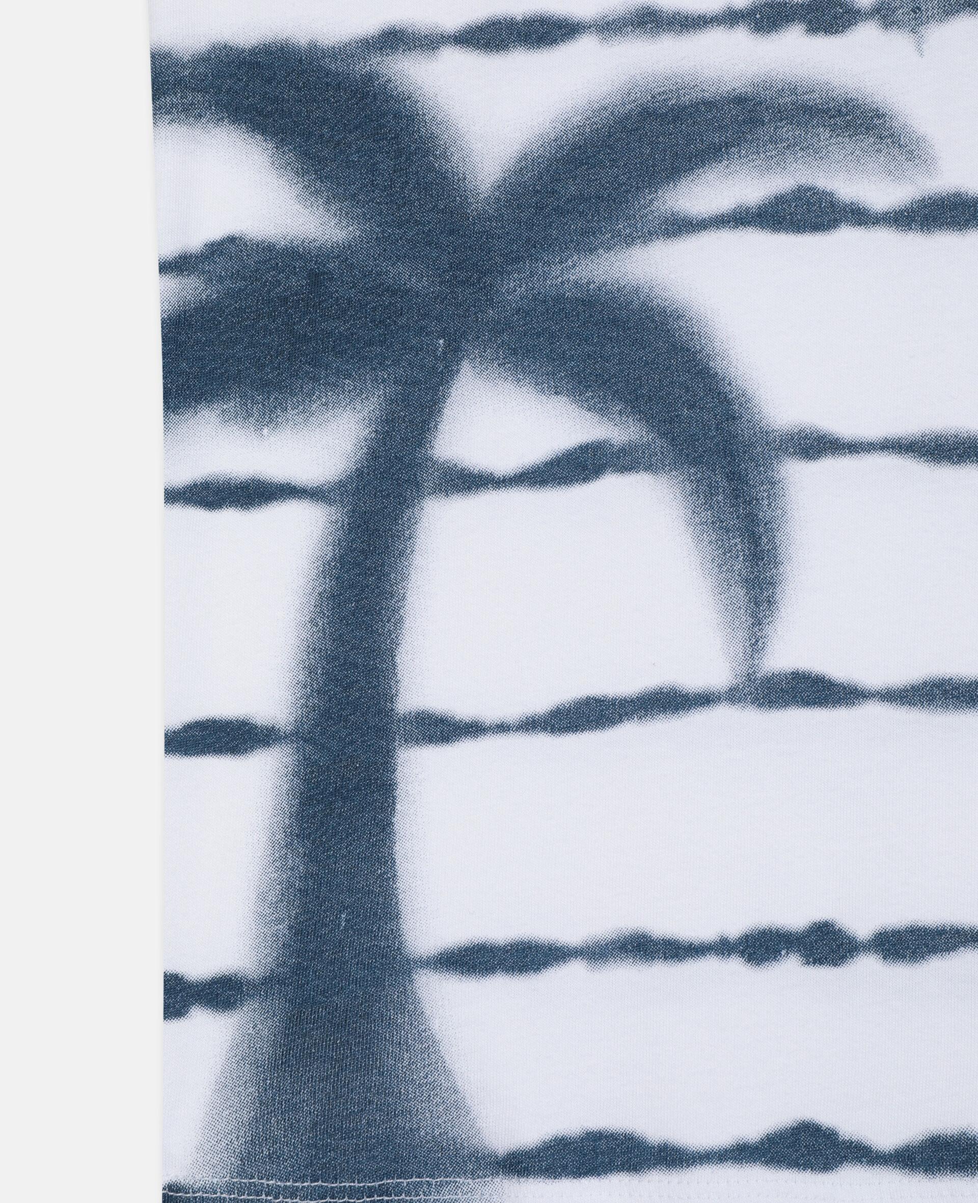 Débardeur en coton à palmier-Blanc-large image number 2