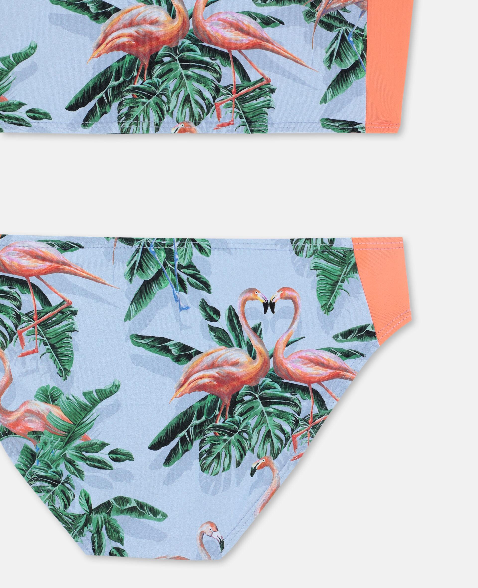Painty Flamingo Bikini-Green-large image number 2
