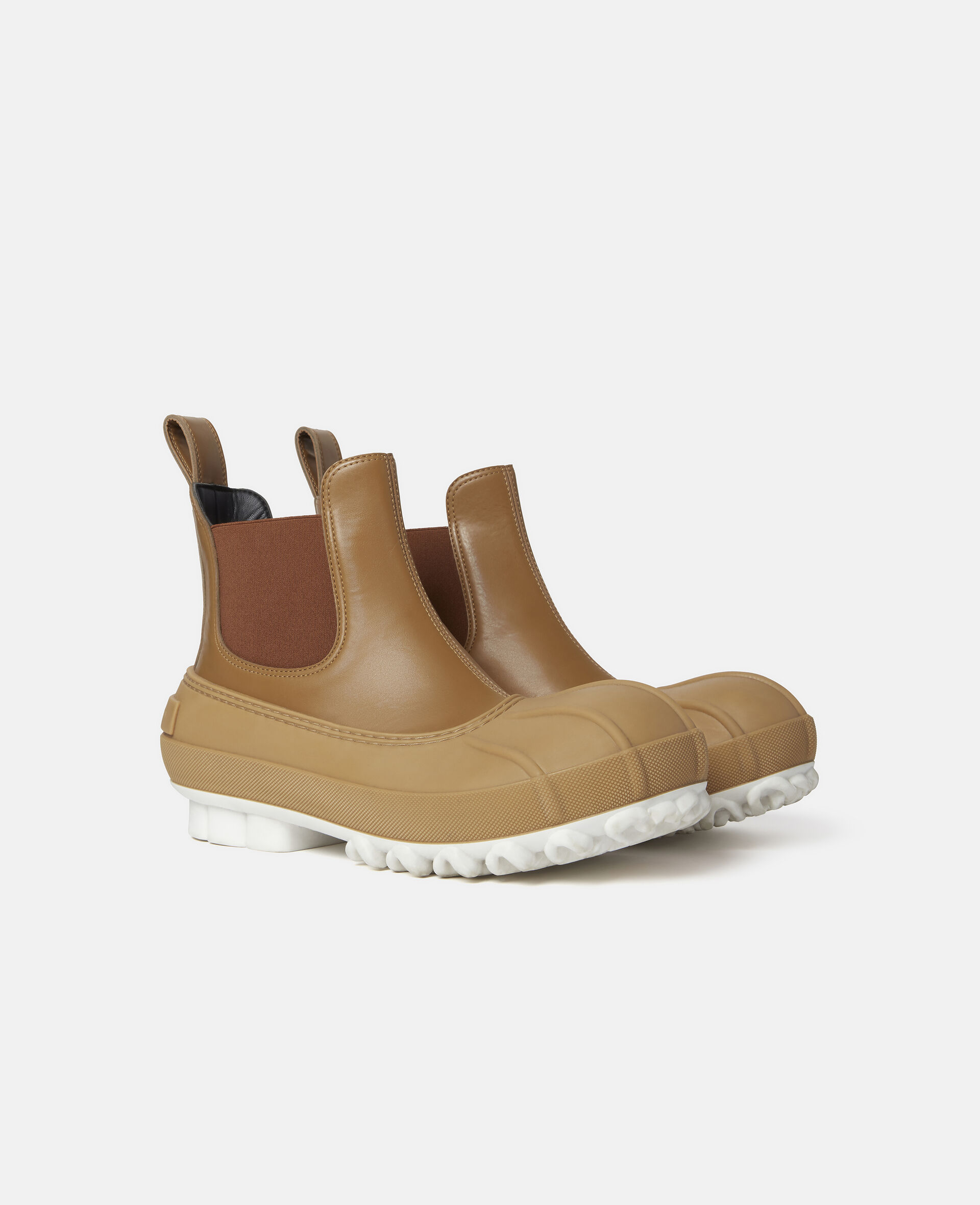 Duck City Chelsea Boots-Brown-large image number 1
