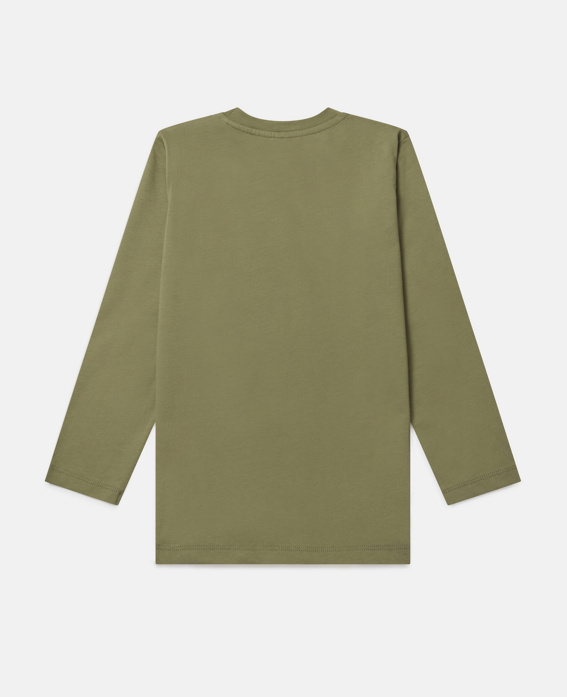 Oversized 'Stay Wild' Top-Green-large image number 3