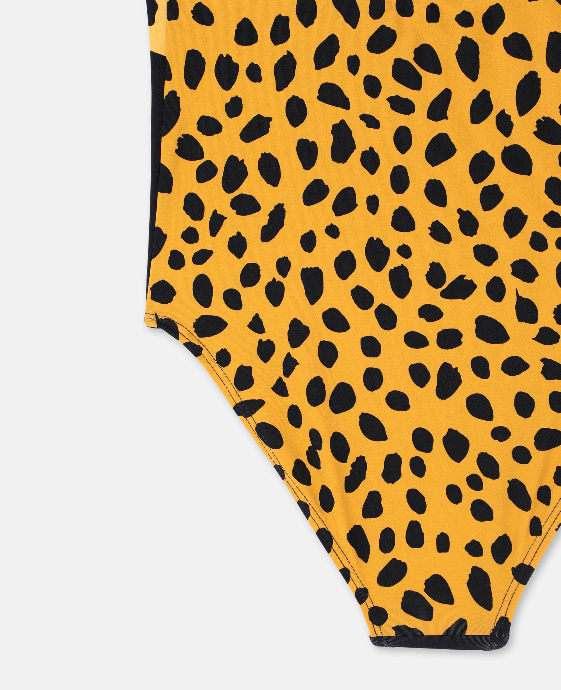 Cheetah Swimsuit-Black-large image number 2