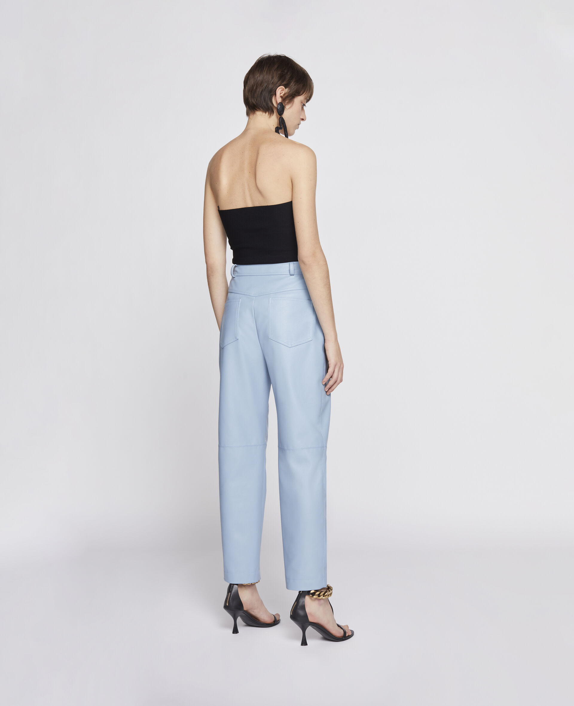 Hailey Alter Mat Trousers-Blue-large image number 2