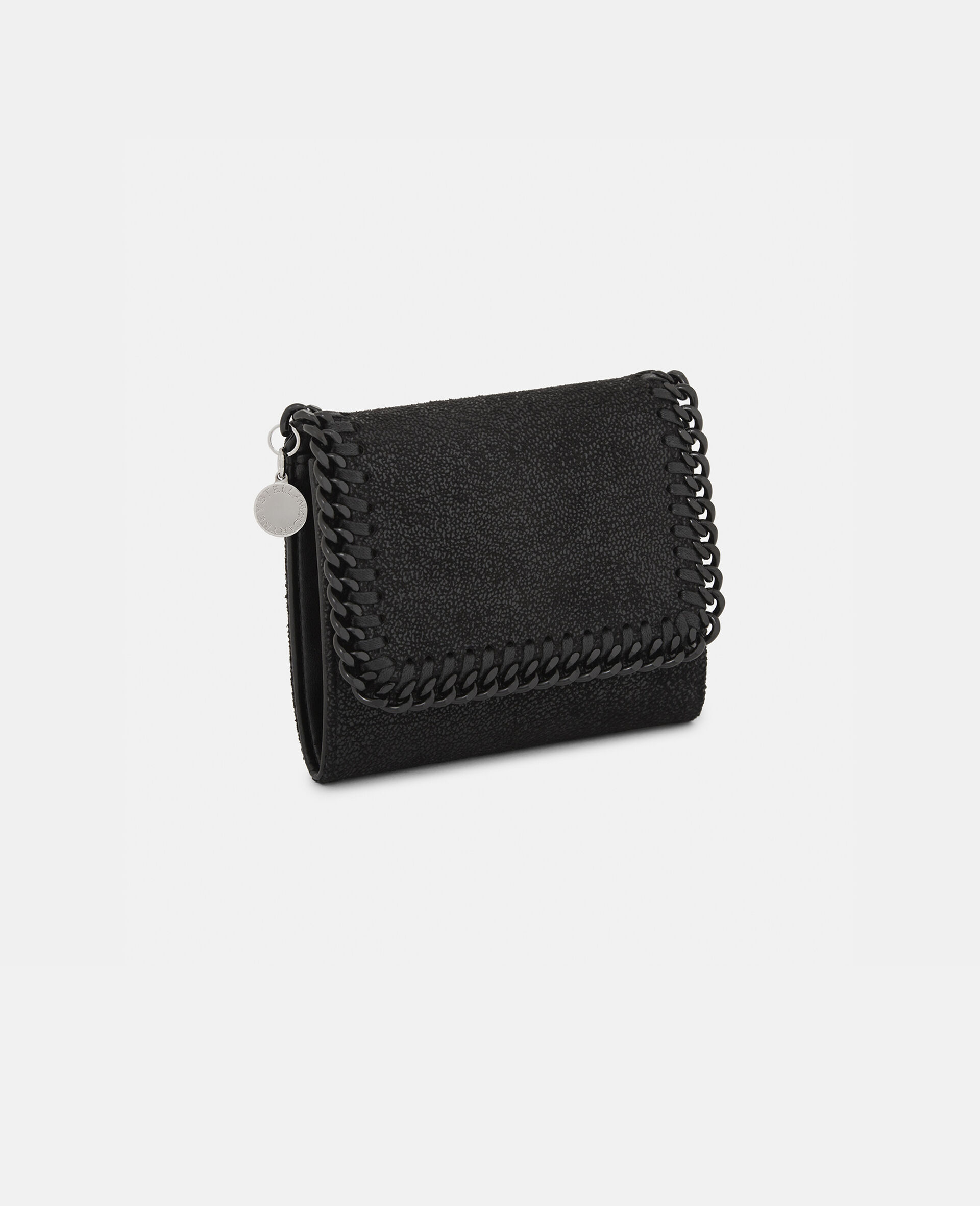 Falabella Small Wallet-Black-large image number 1