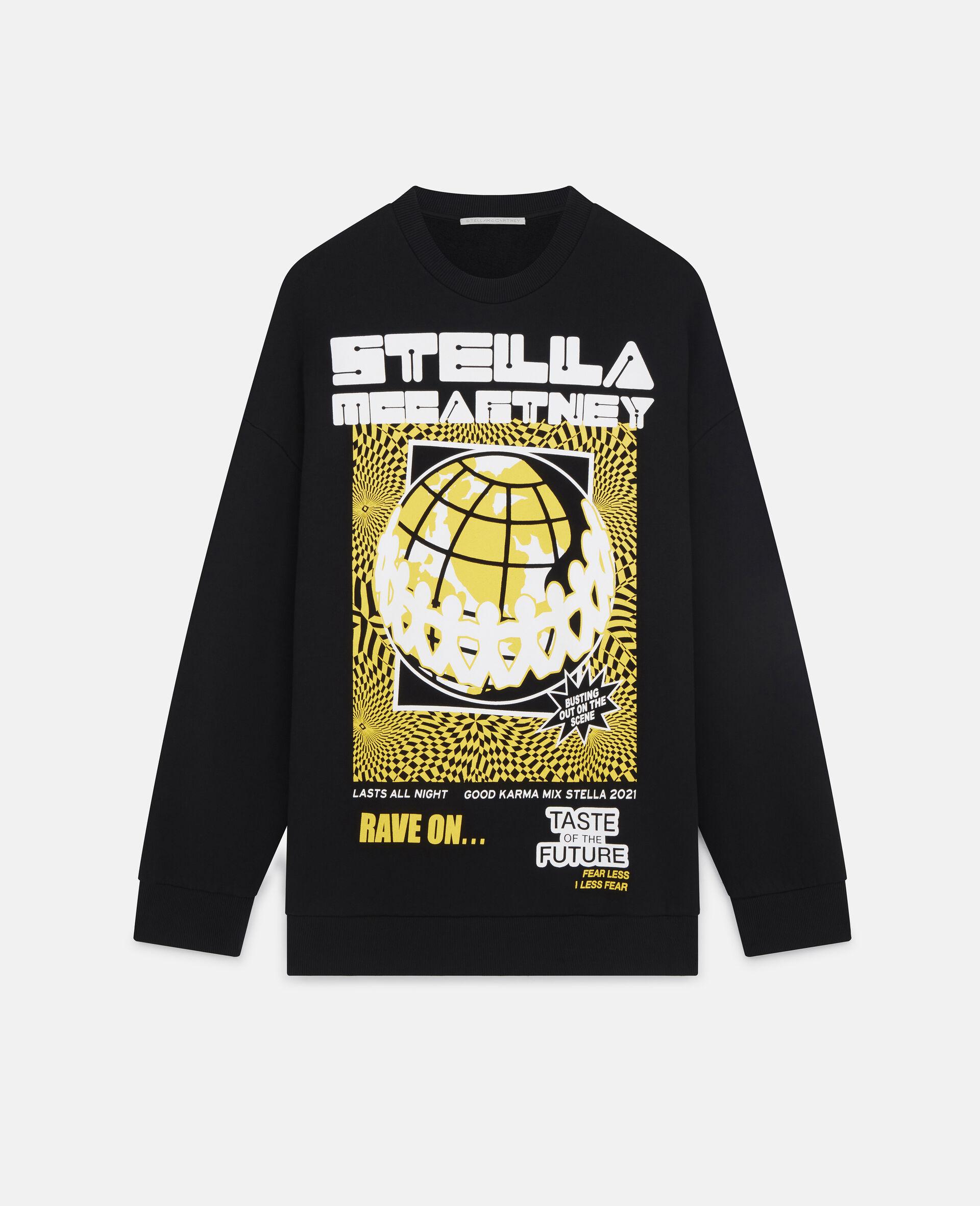 Rave Sweatshirt-Black-large image number 0