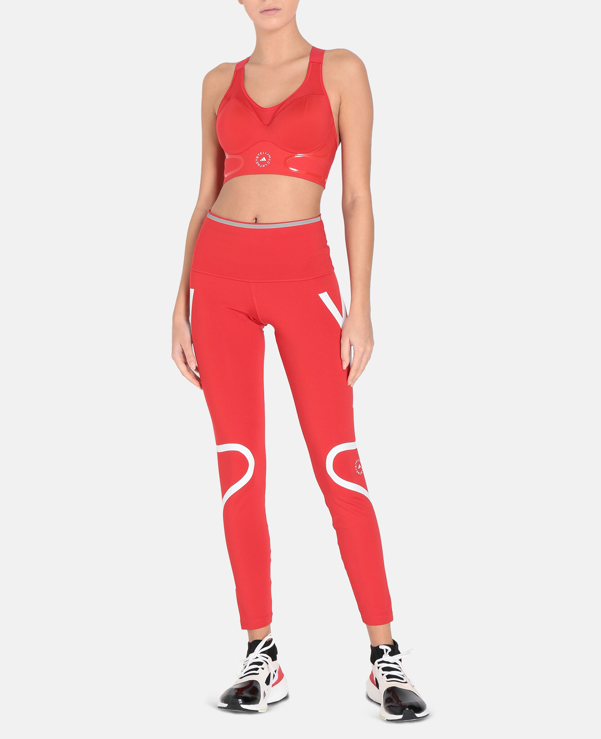 TruePace High-Impact Bra-Red-large image number 1