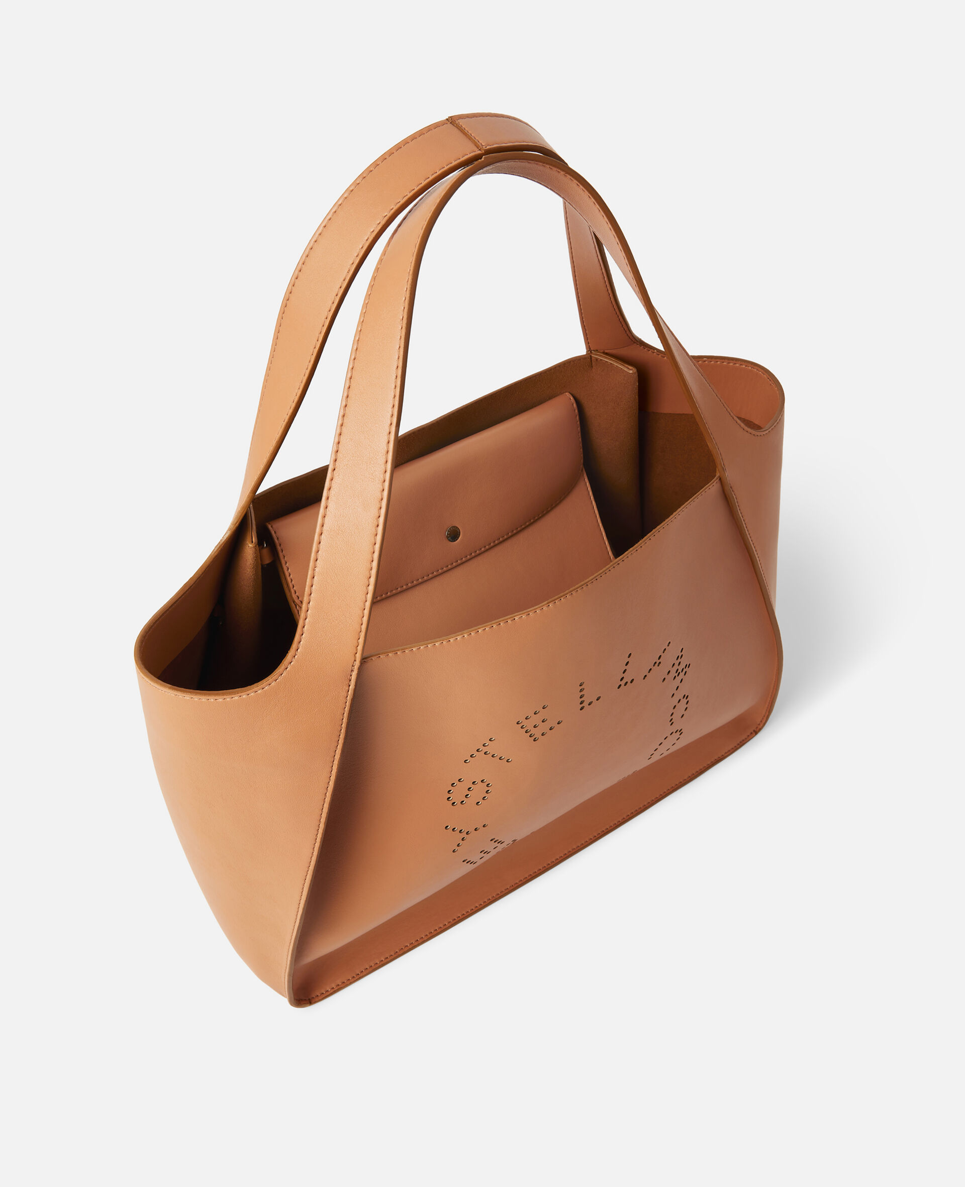 Tote con Logo Stella-Marrone-large image number 3