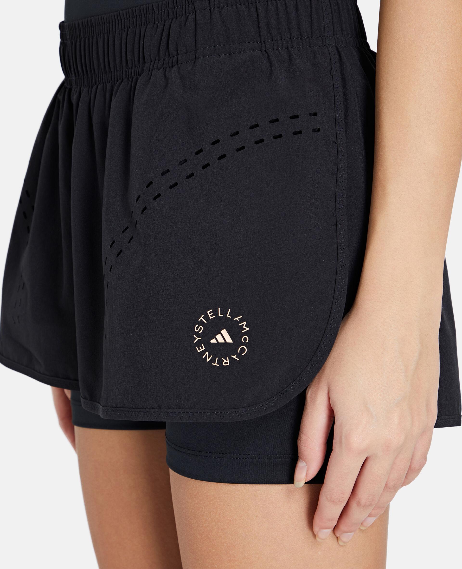 Schwarze TruePurpose Sport-Shorts-Schwarz-large image number 3