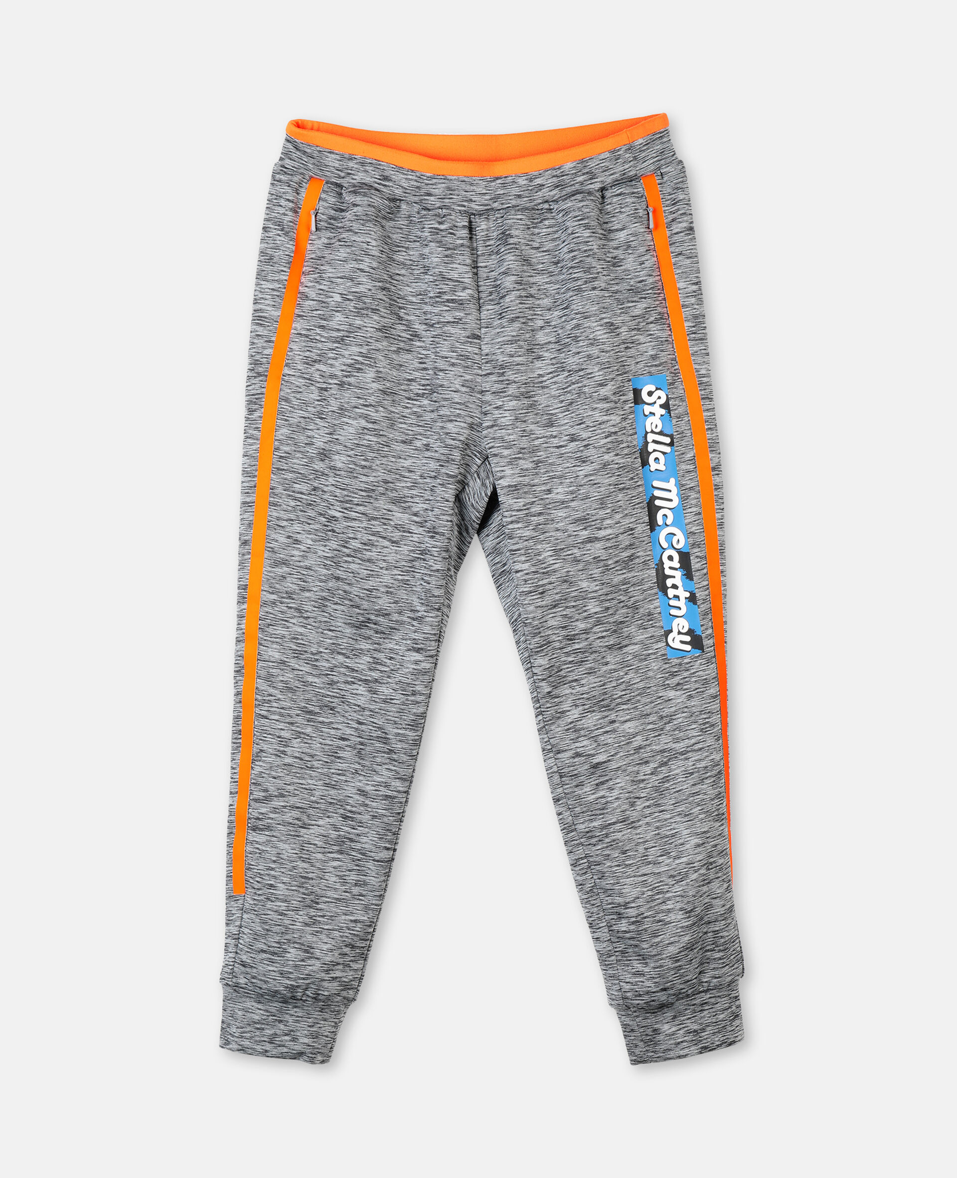 Space Dye Active Joggers -Grey-large image number 0