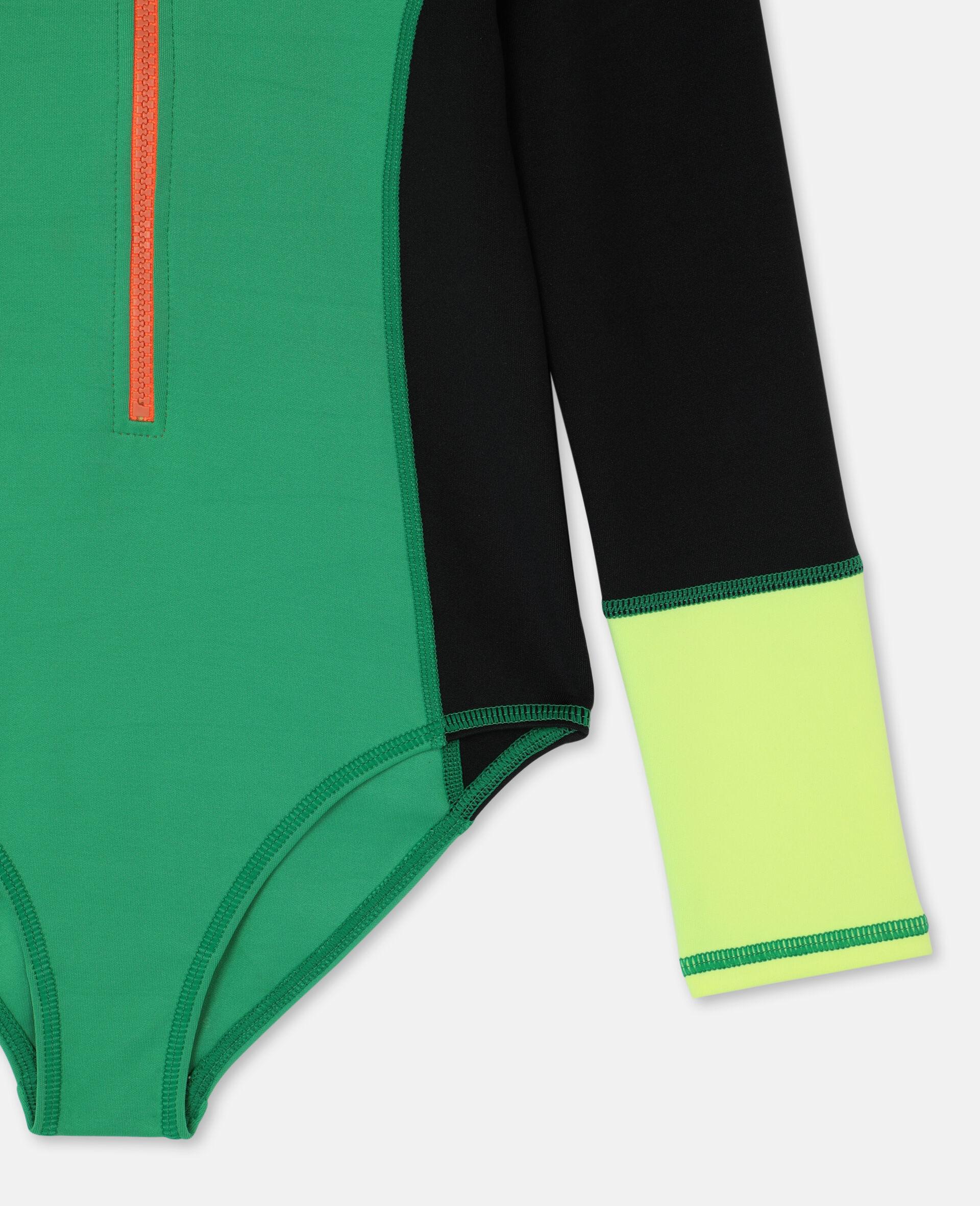 Multicolor Scuba Swimsuit-Multicolour-large image number 2