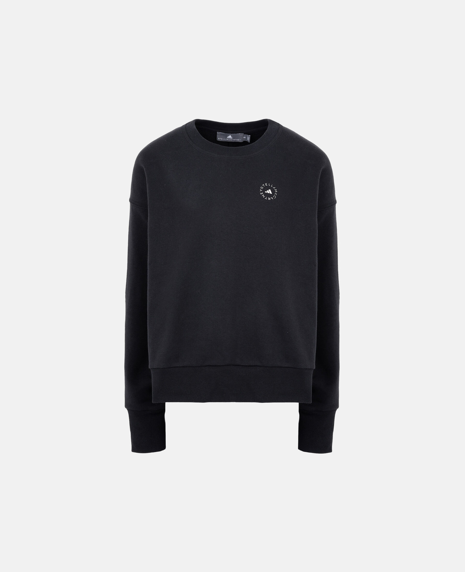 Black Training Sweatshirt-Black-large image number 0