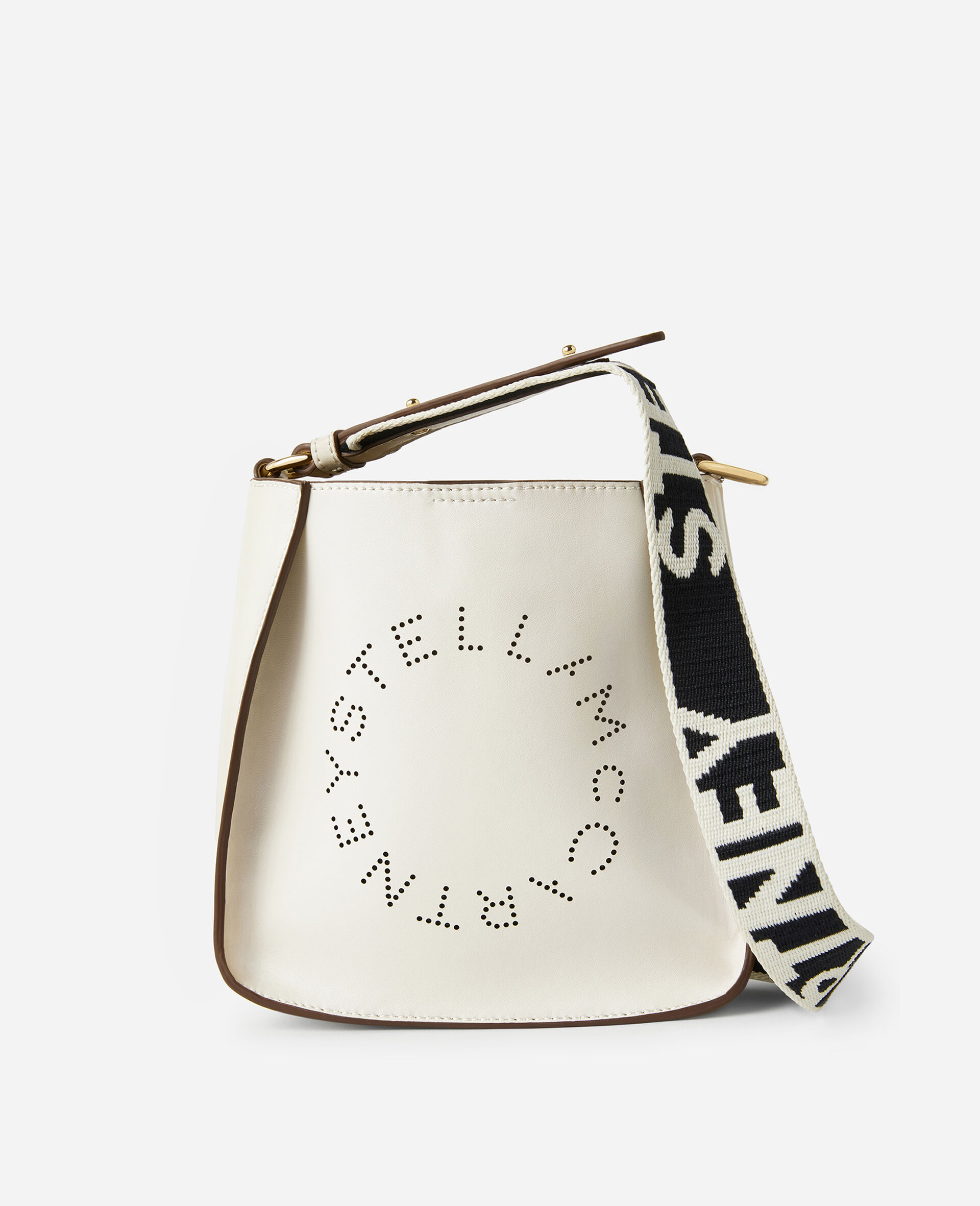 Mini Stella Logo Shoulder Bag -Black-large image number 0