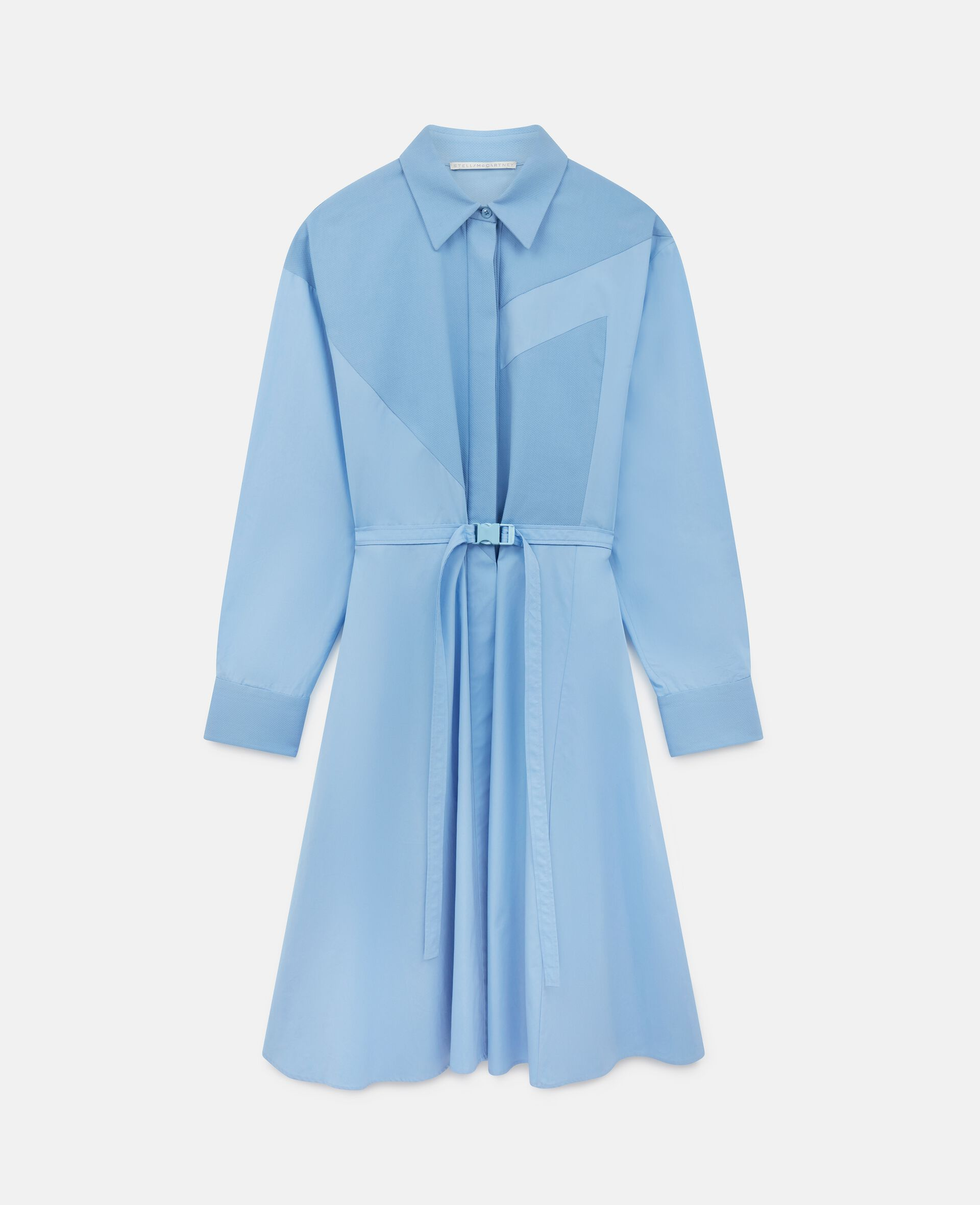 Mia Cotton Dress-Blue-large image number 0