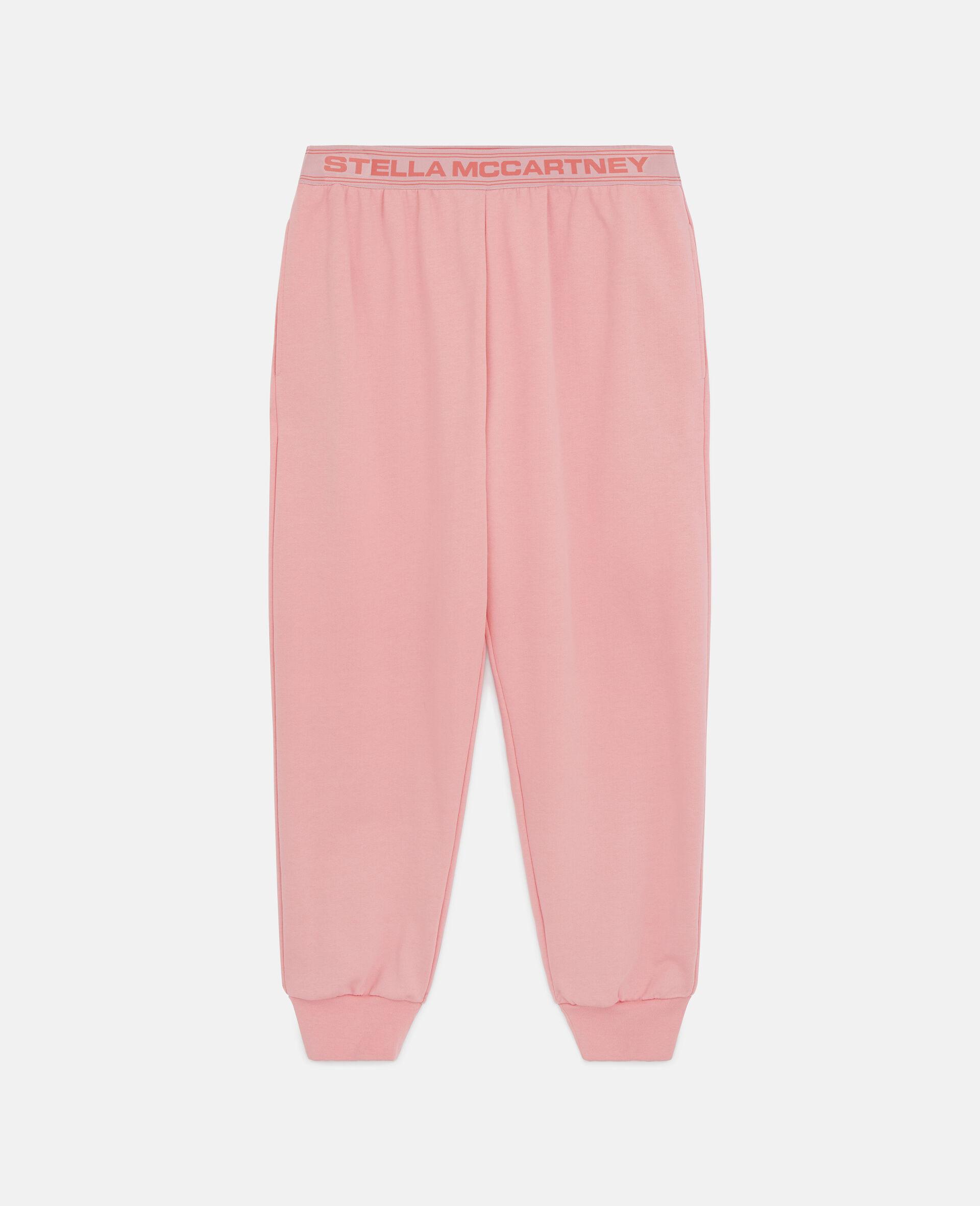 Stella Logo Tape Sweatpants-Pink-large image number 0
