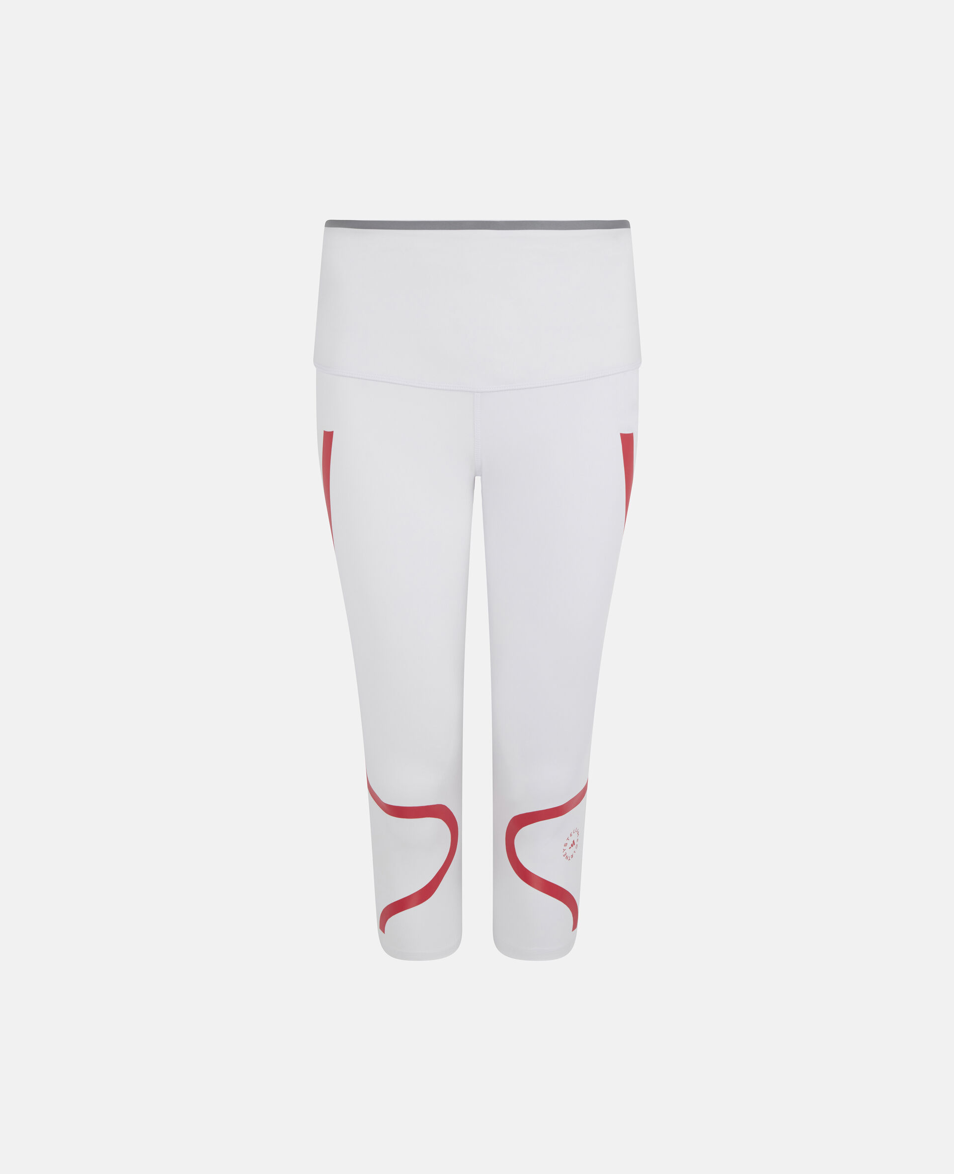TruePace 3/4 Running Tights-White-large image number 0
