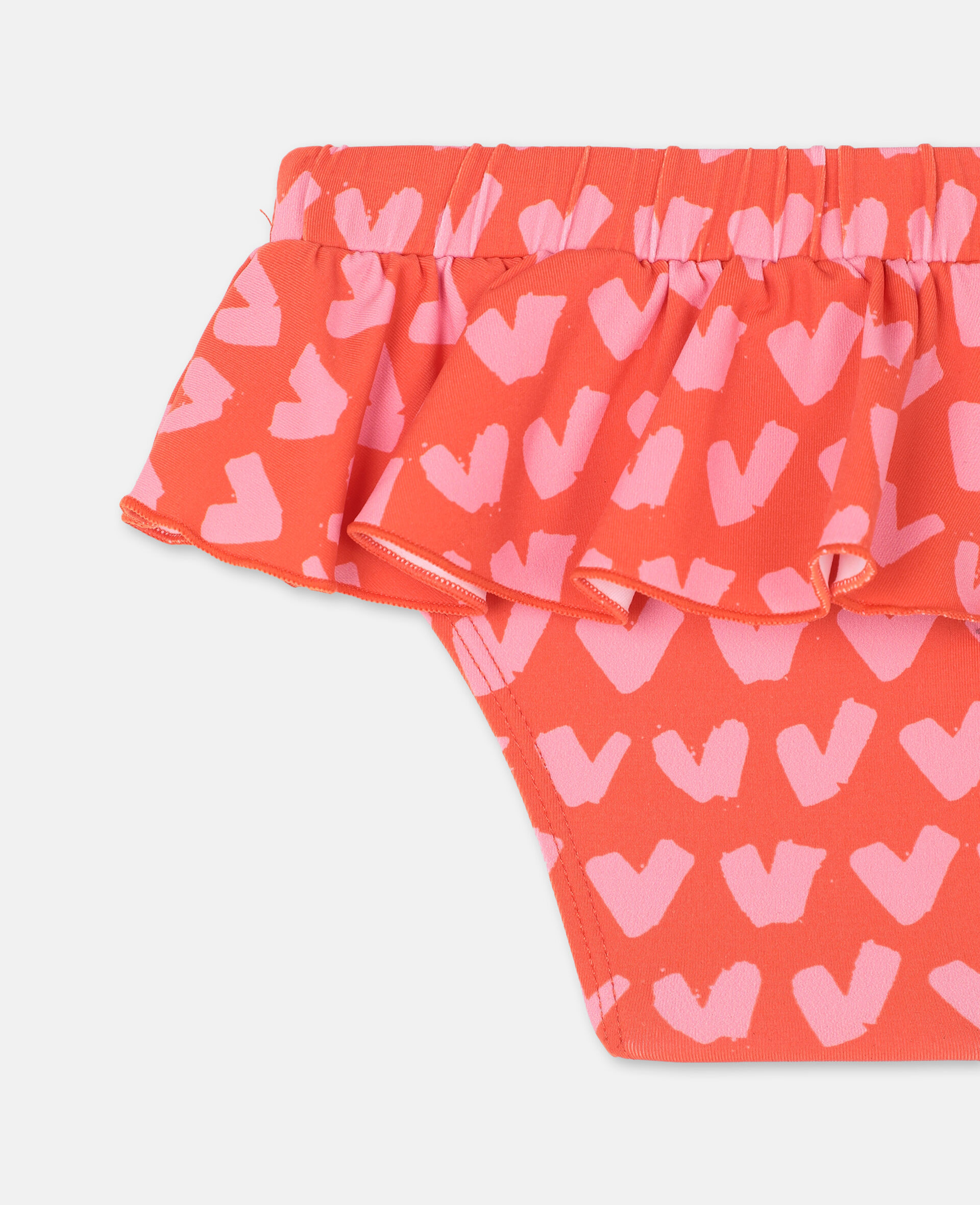Hearts Red Swim Bottom -Red-large image number 2