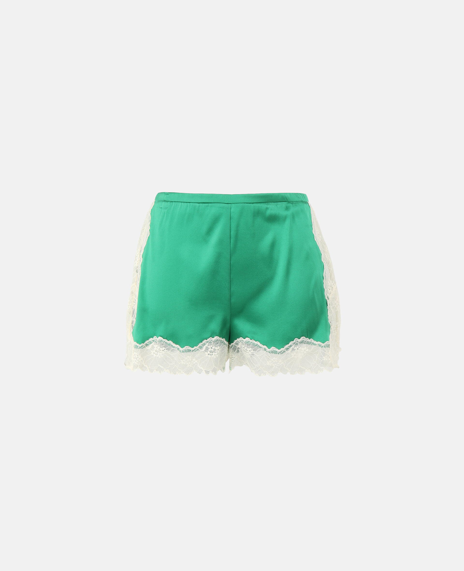 Kitty Catching Shorts-Green-large image number 0