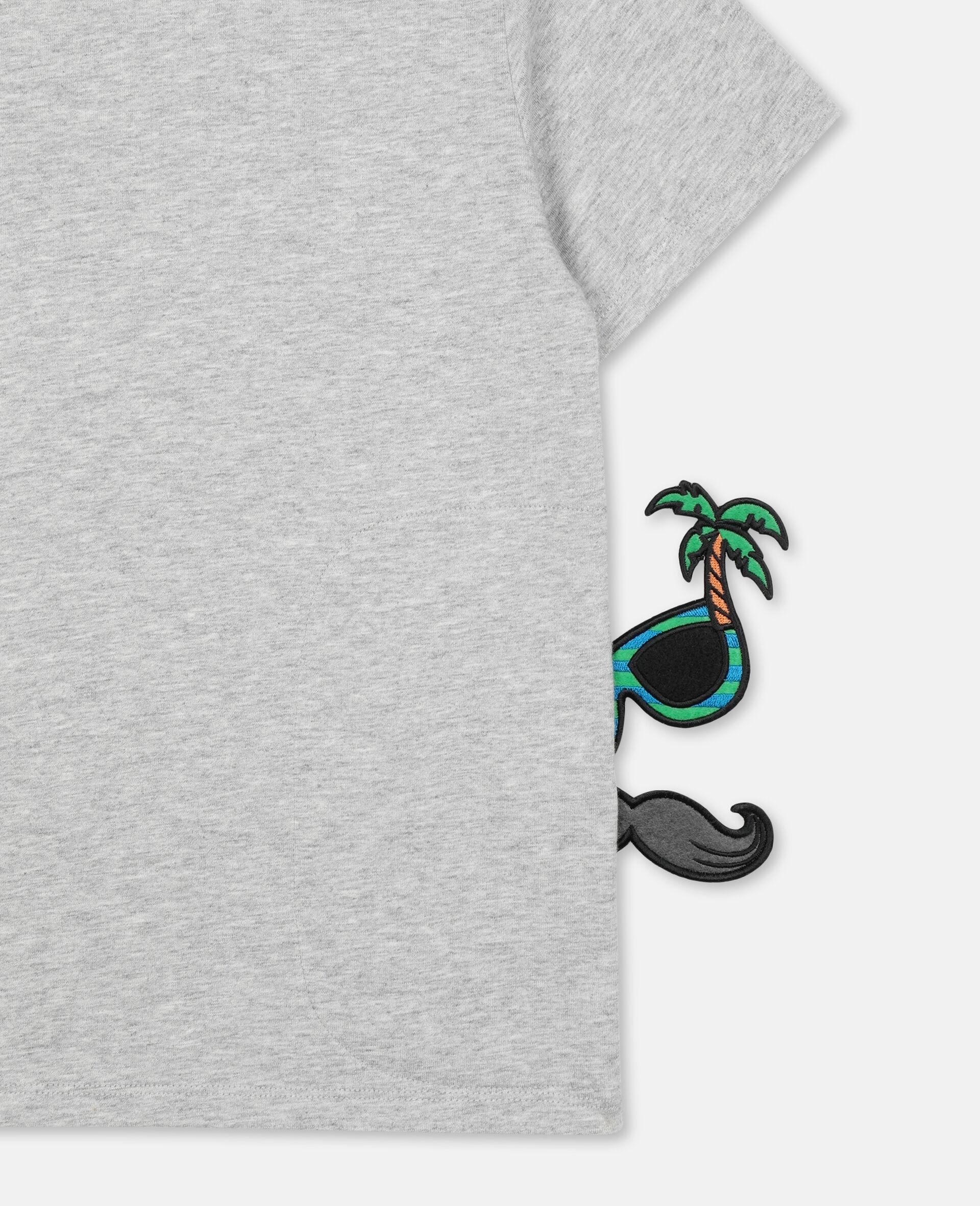 T-Shirt con Pirata -Grigio-large image number 2