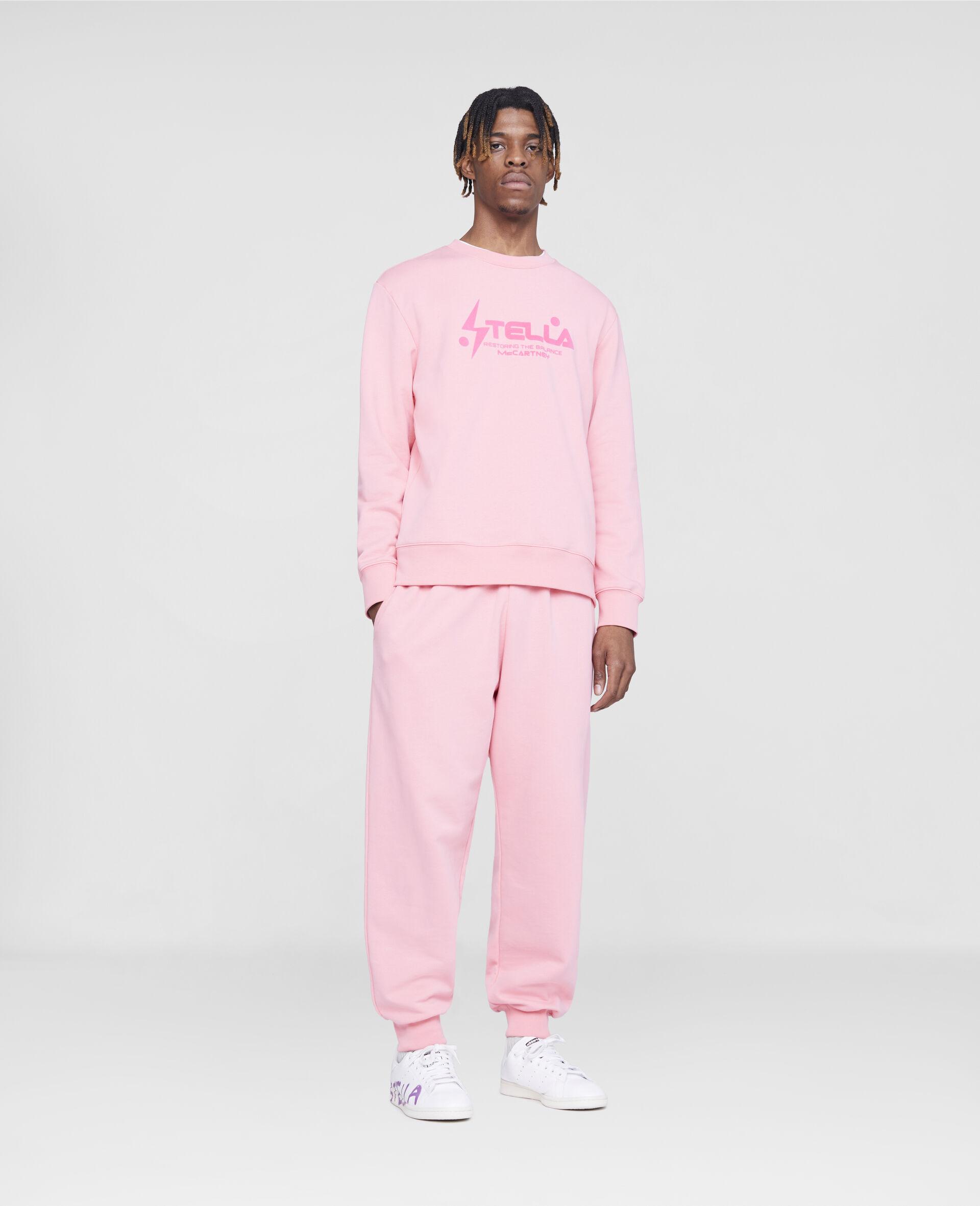 Tom Tosseyn Stella Logo Sweatshirt-Pink-large image number 3