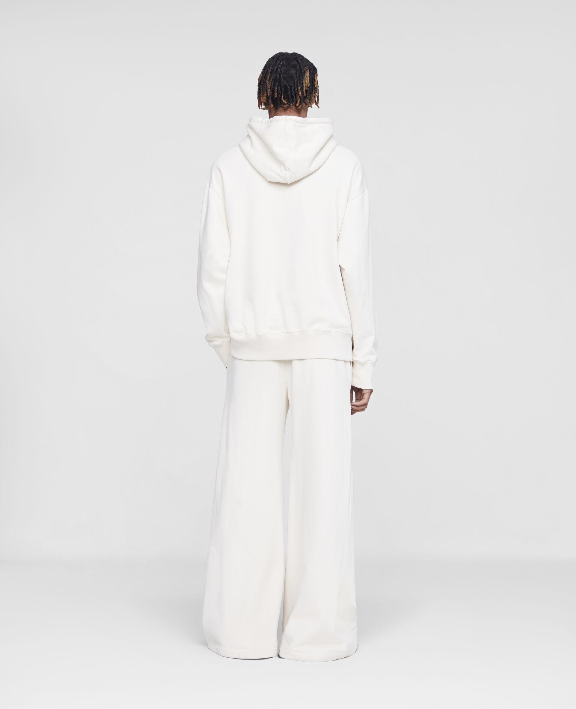 Stella Logo Sweatpants -White-large image number 2
