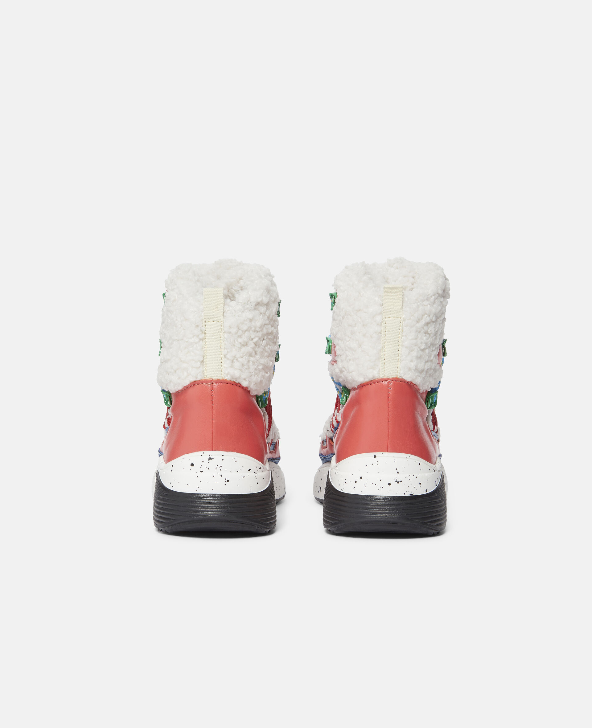 Colourblock Hiking Boots-White-large image number 2