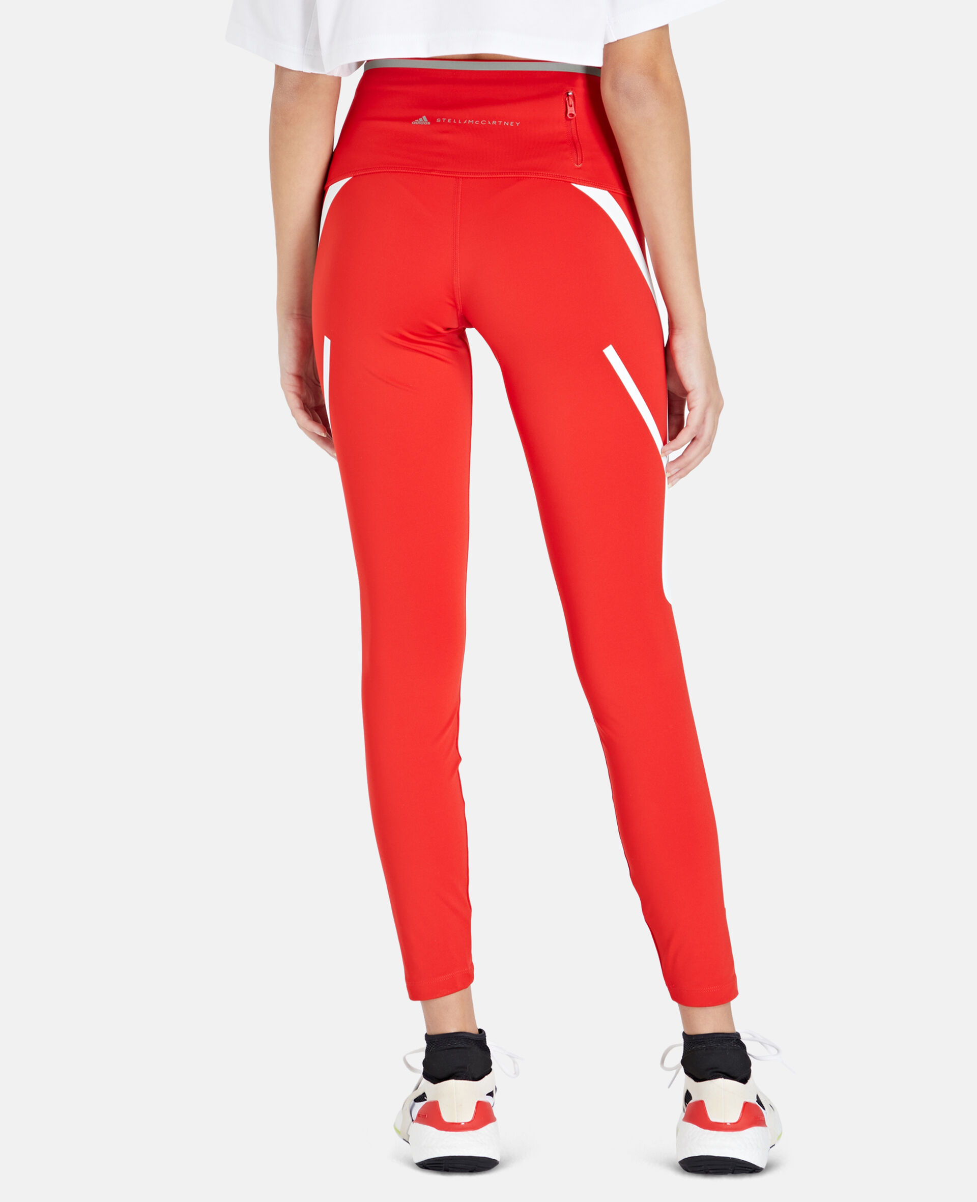 TruePace Long Running Tights-Red-large image number 2