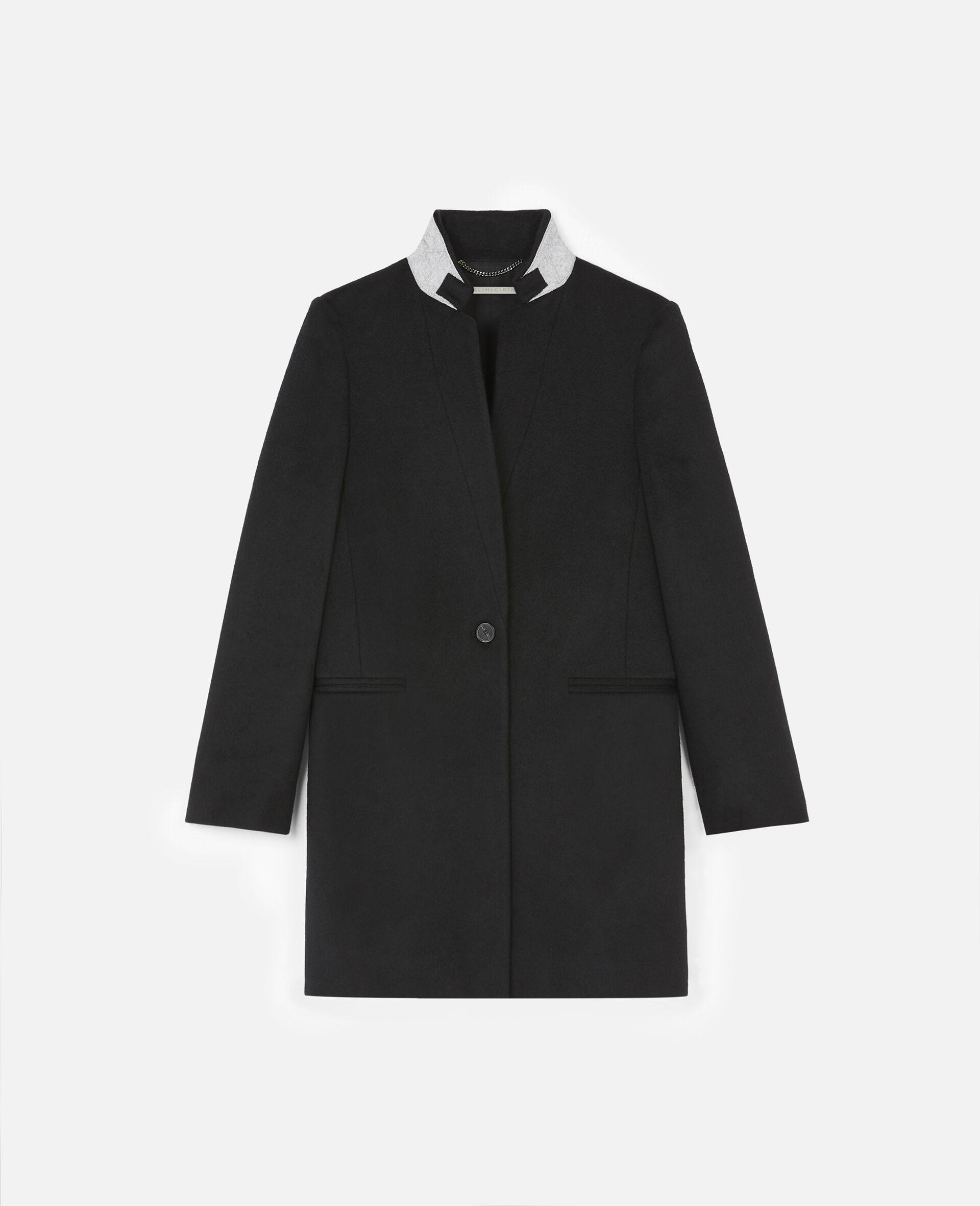 Bronwyn Tailored Coat -Black-large image number 0
