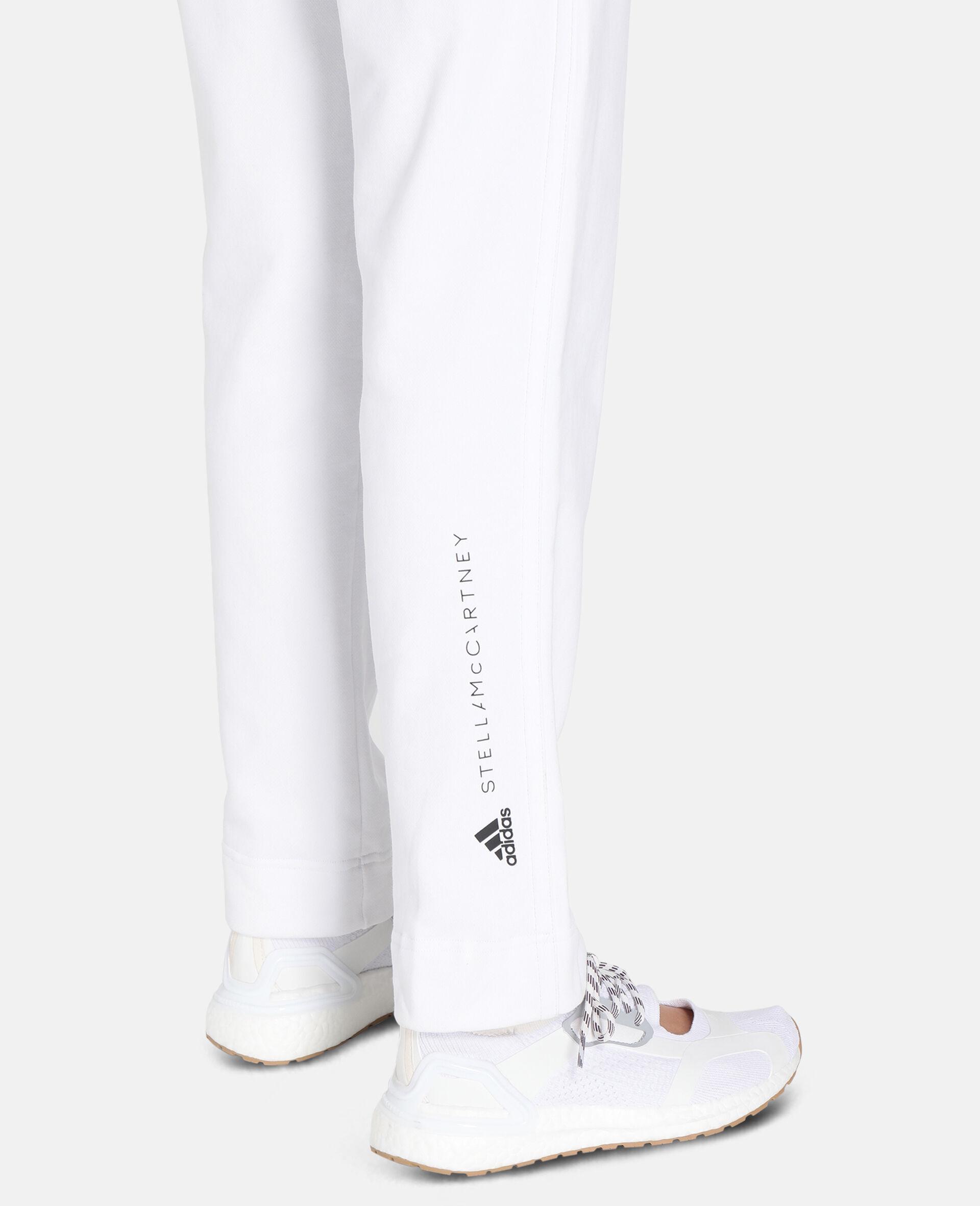 White Training Sweatpants -White-large image number 3