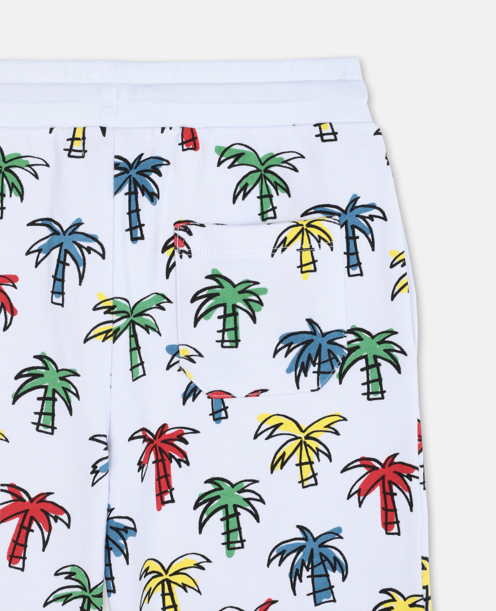Doodly Palms Shorts -Multicolour-large image number 2