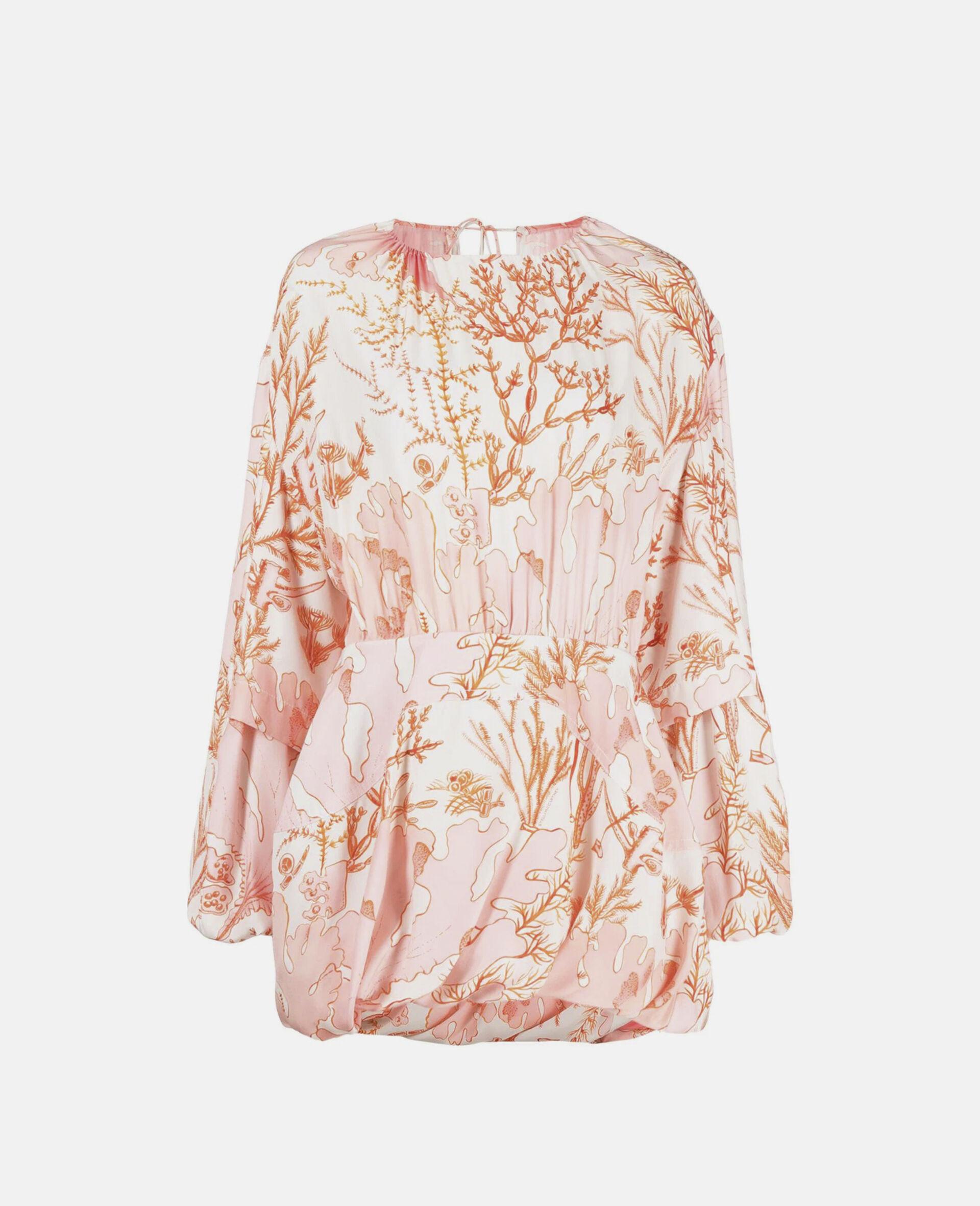 Amanda Silk Dress-Multicoloured-large image number 0