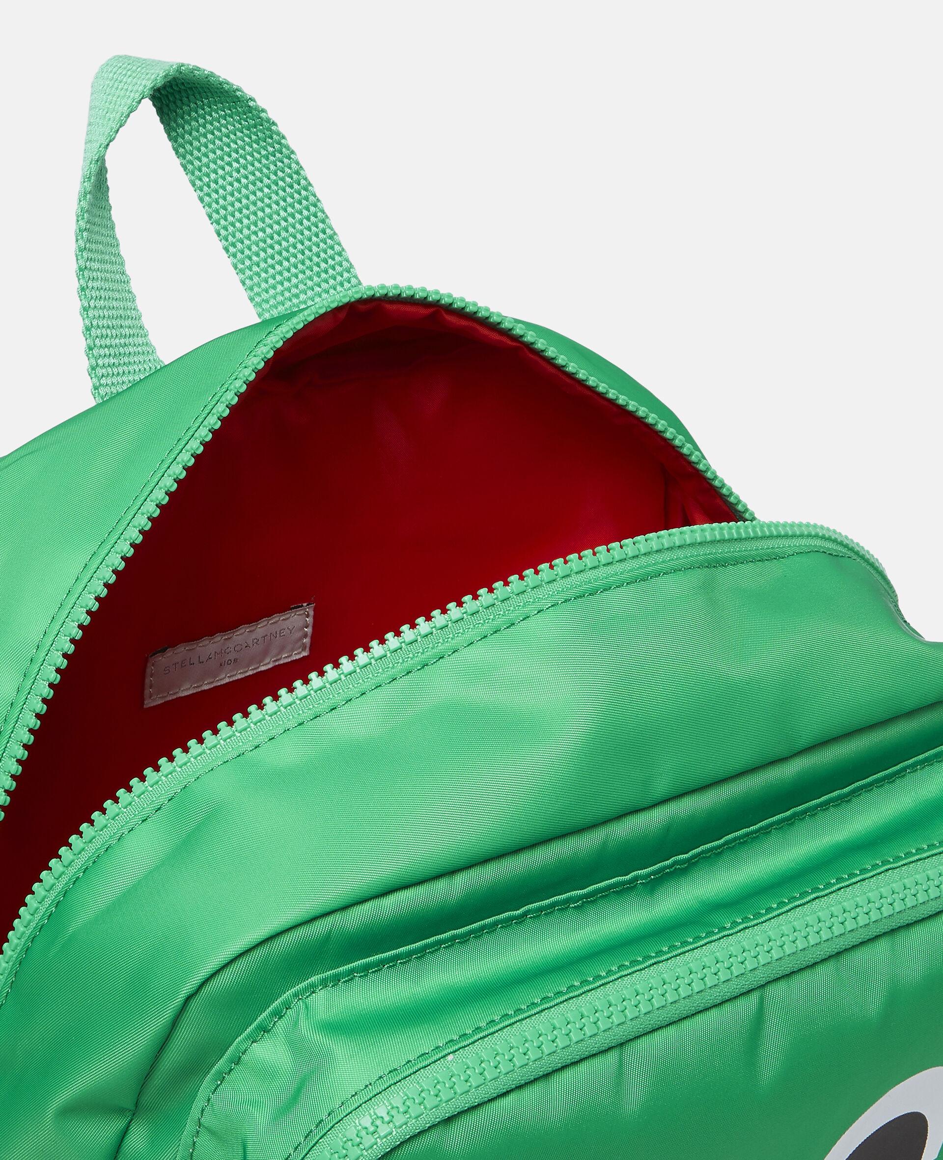 Frog Backpack-Green-large image number 2