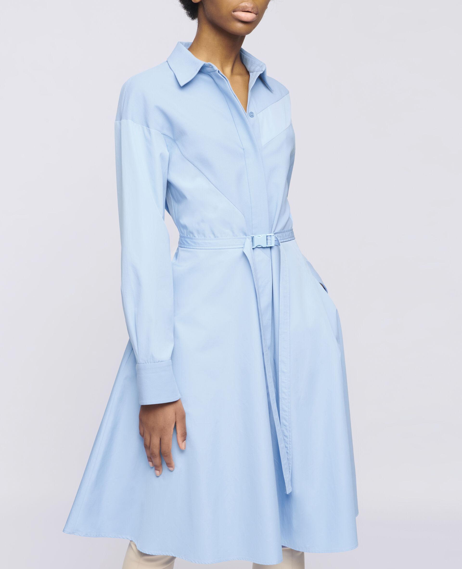 Mia Cotton Dress-Blue-large image number 3
