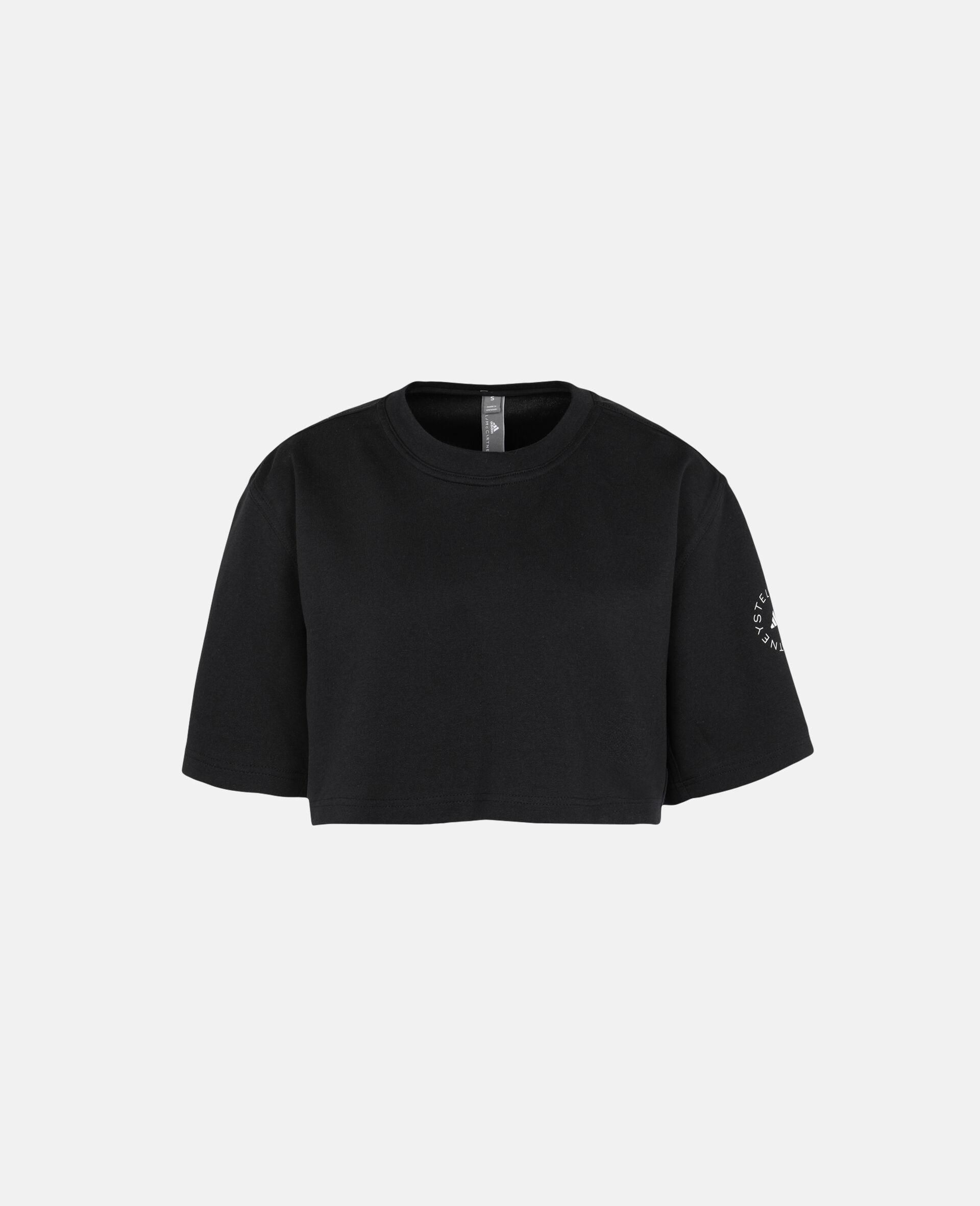 Future Playground Crop T-Shirt-Black-large image number 0