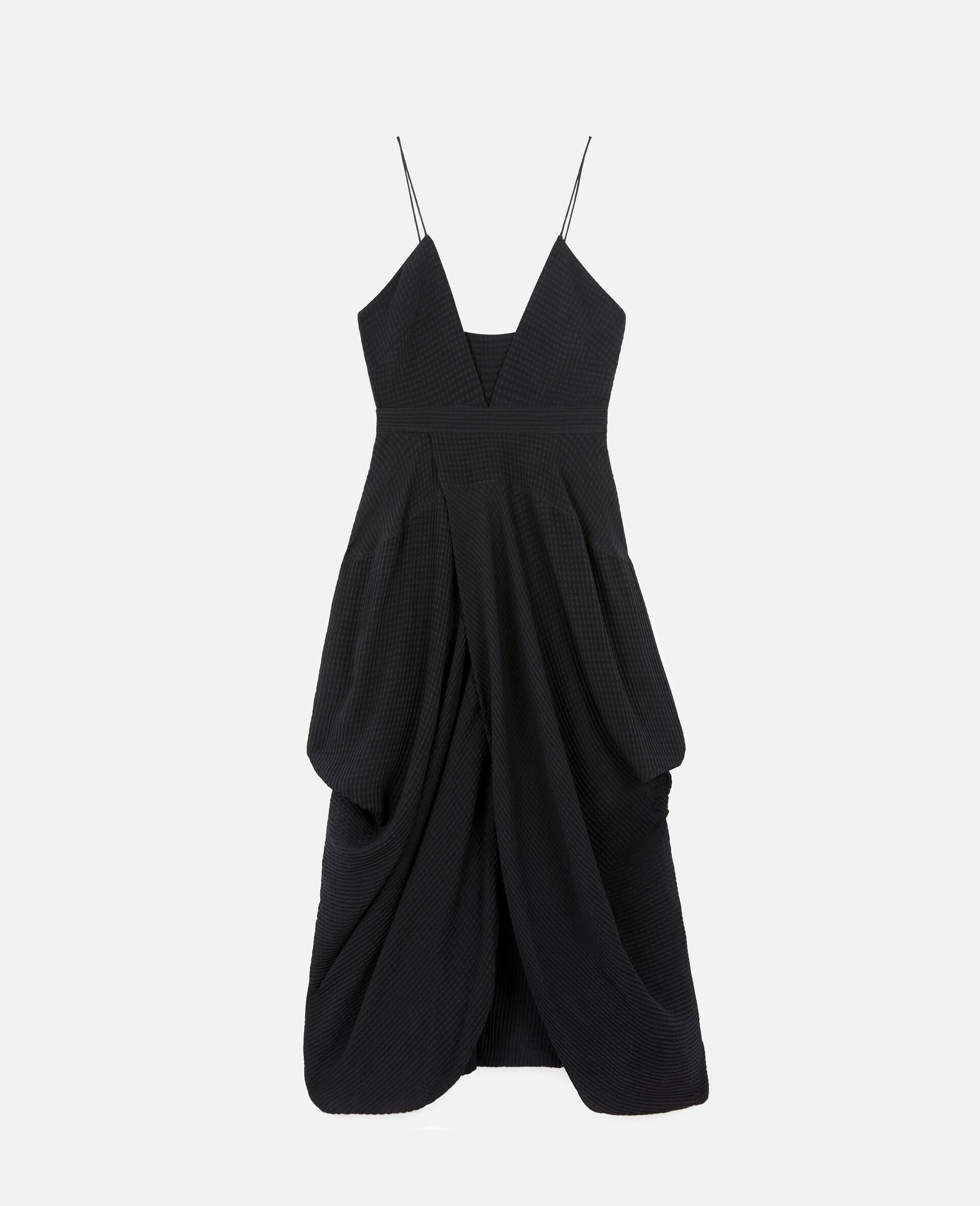 Jenna Silk Dress-Black-large image number 0
